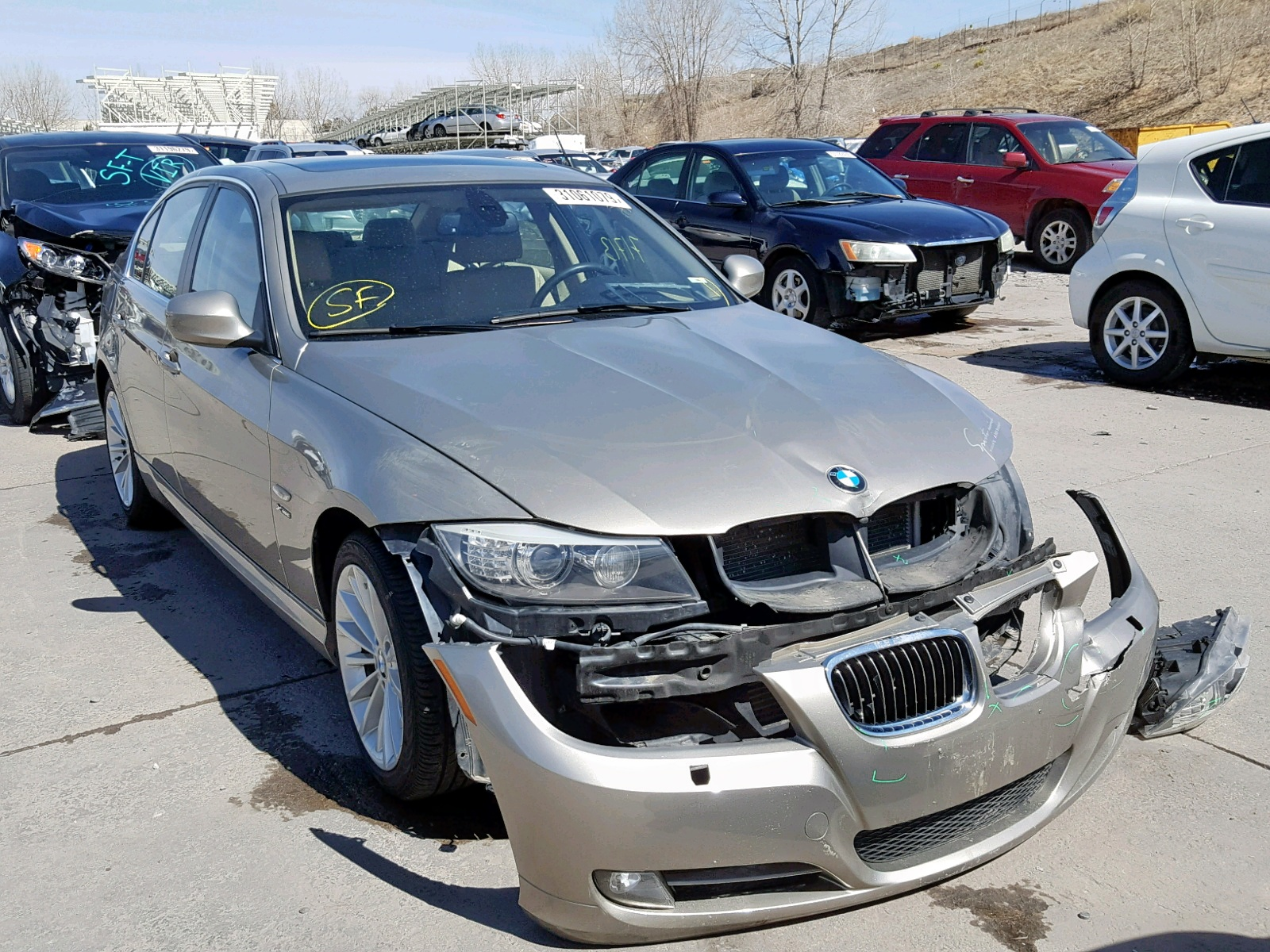 Salvage 2010 BMW 335 XI for sale