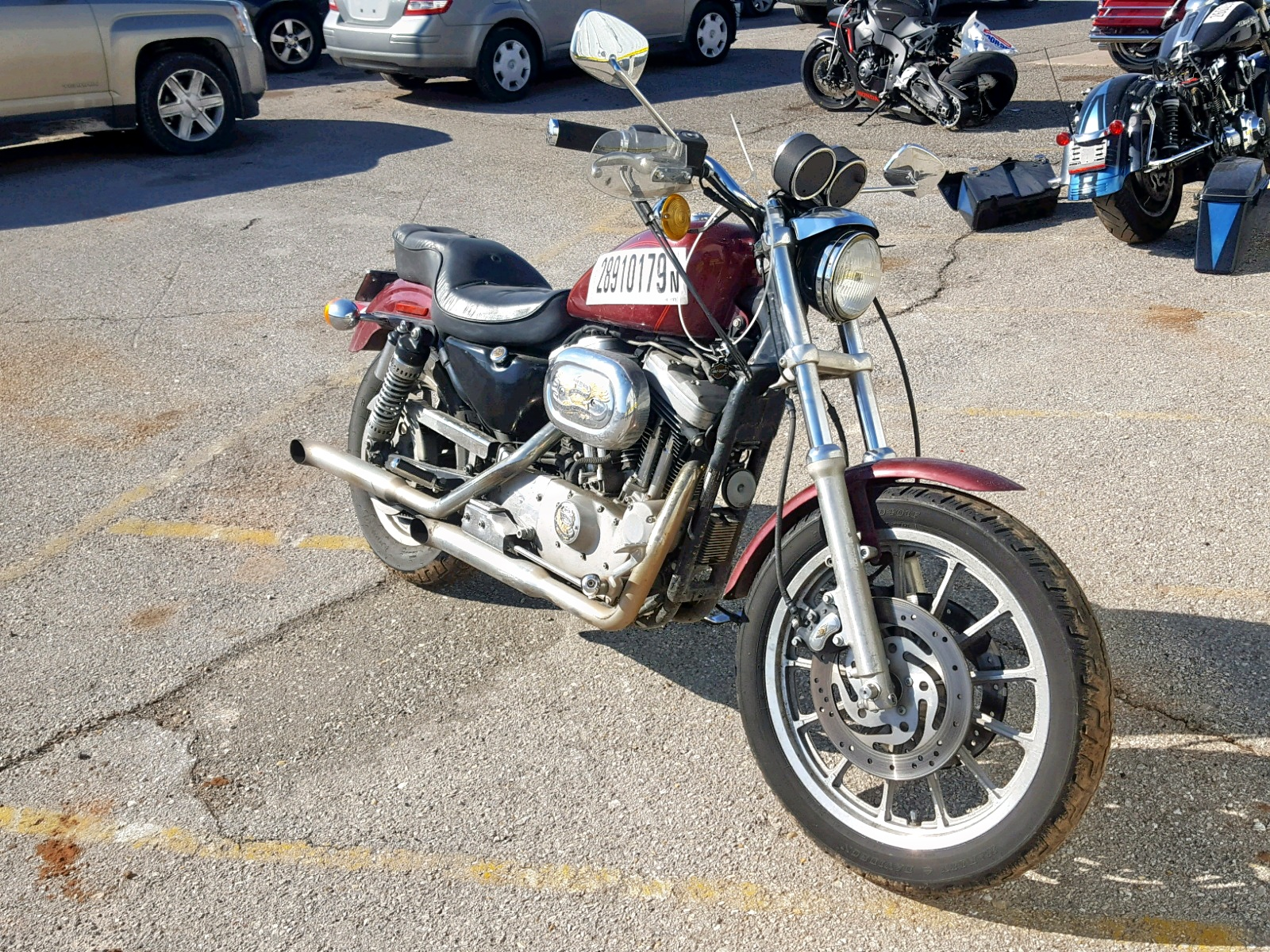 Salvage 2000 Harley-Davidson XL1200 S for sale