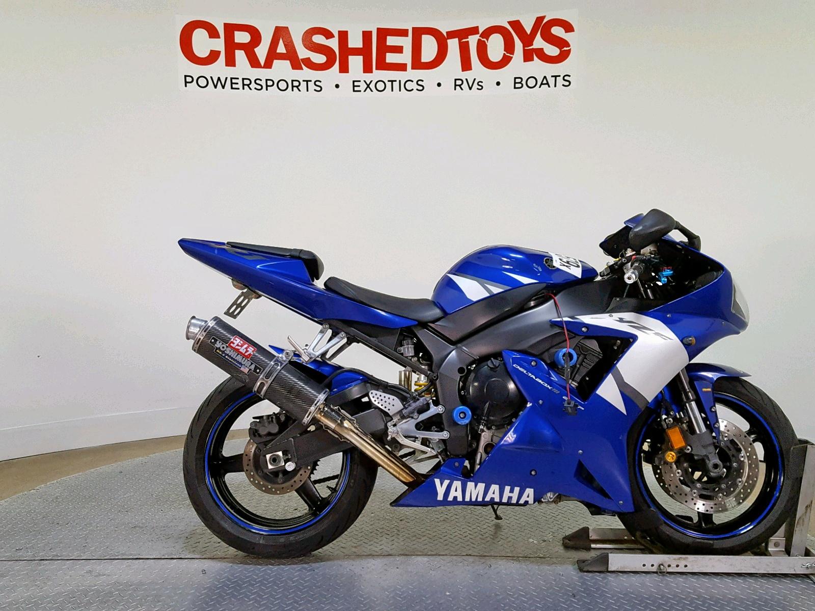 Salvage 2002 Yamaha YZFR1 for sale
