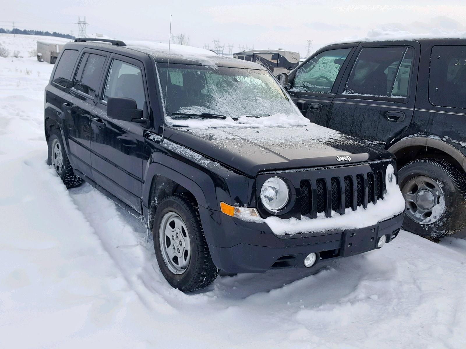 2014 Jeep Patriot Sp 2.0L Left View