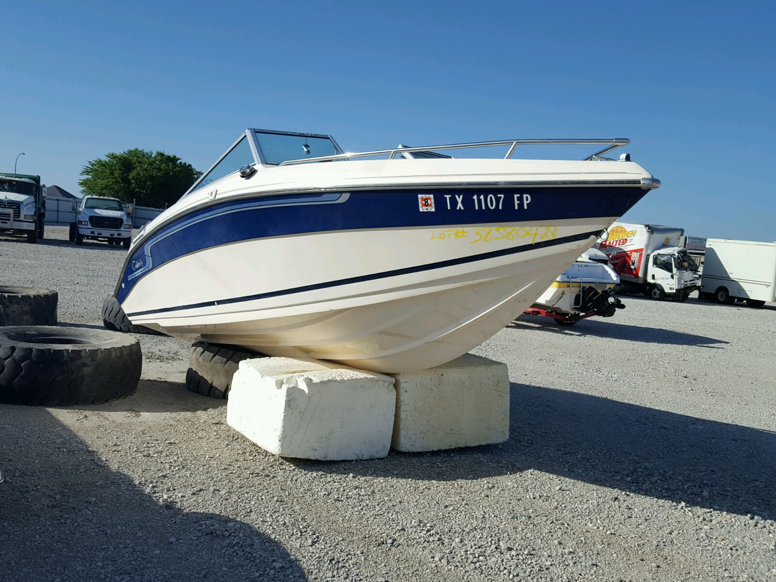 Salvage 1988 Celebrity BOAT for sale