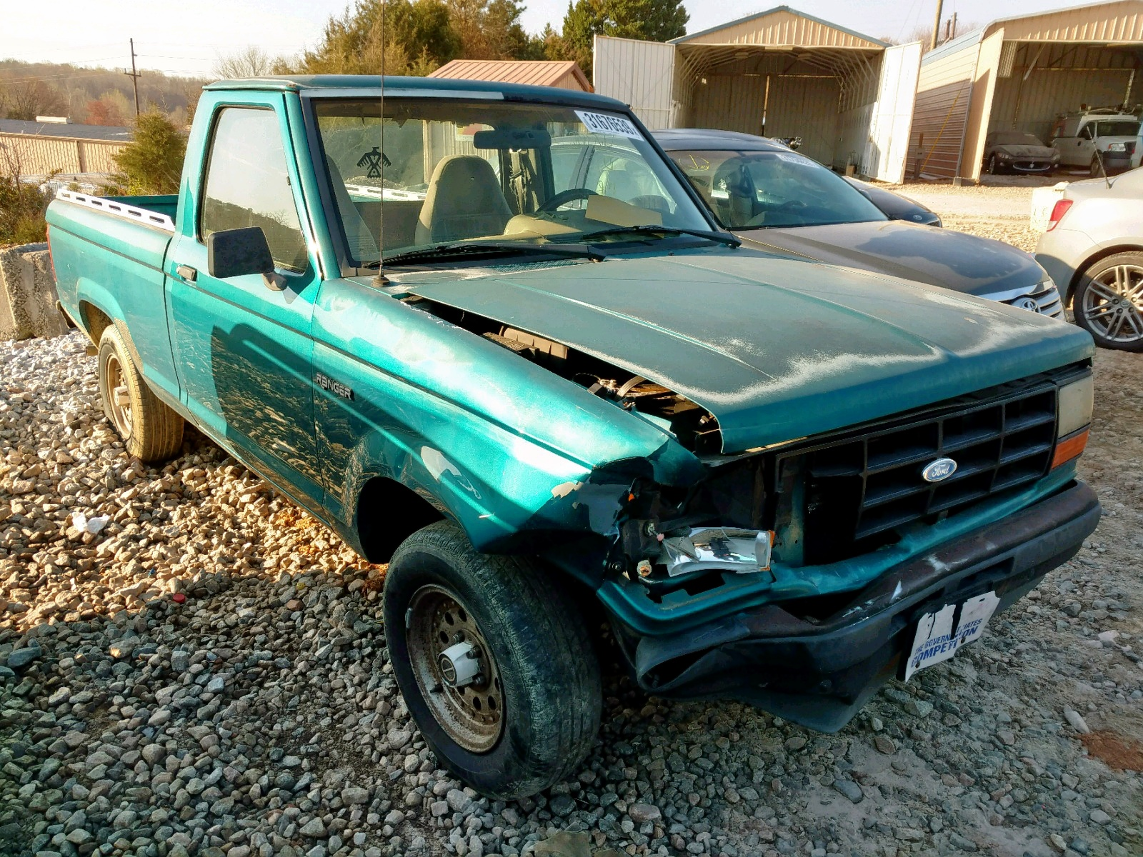 Salvage 1992 Ford RANGER for sale