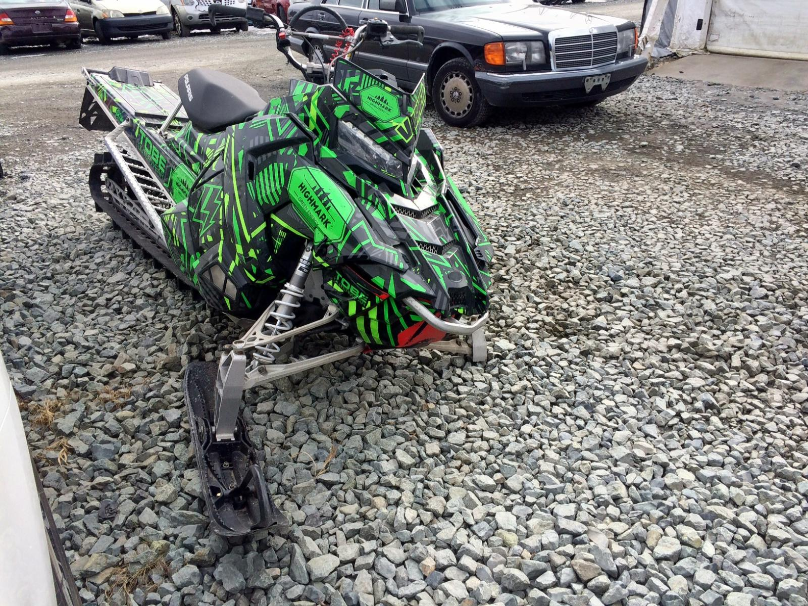 Salvage 2016 Polaris RMK 800CC for sale