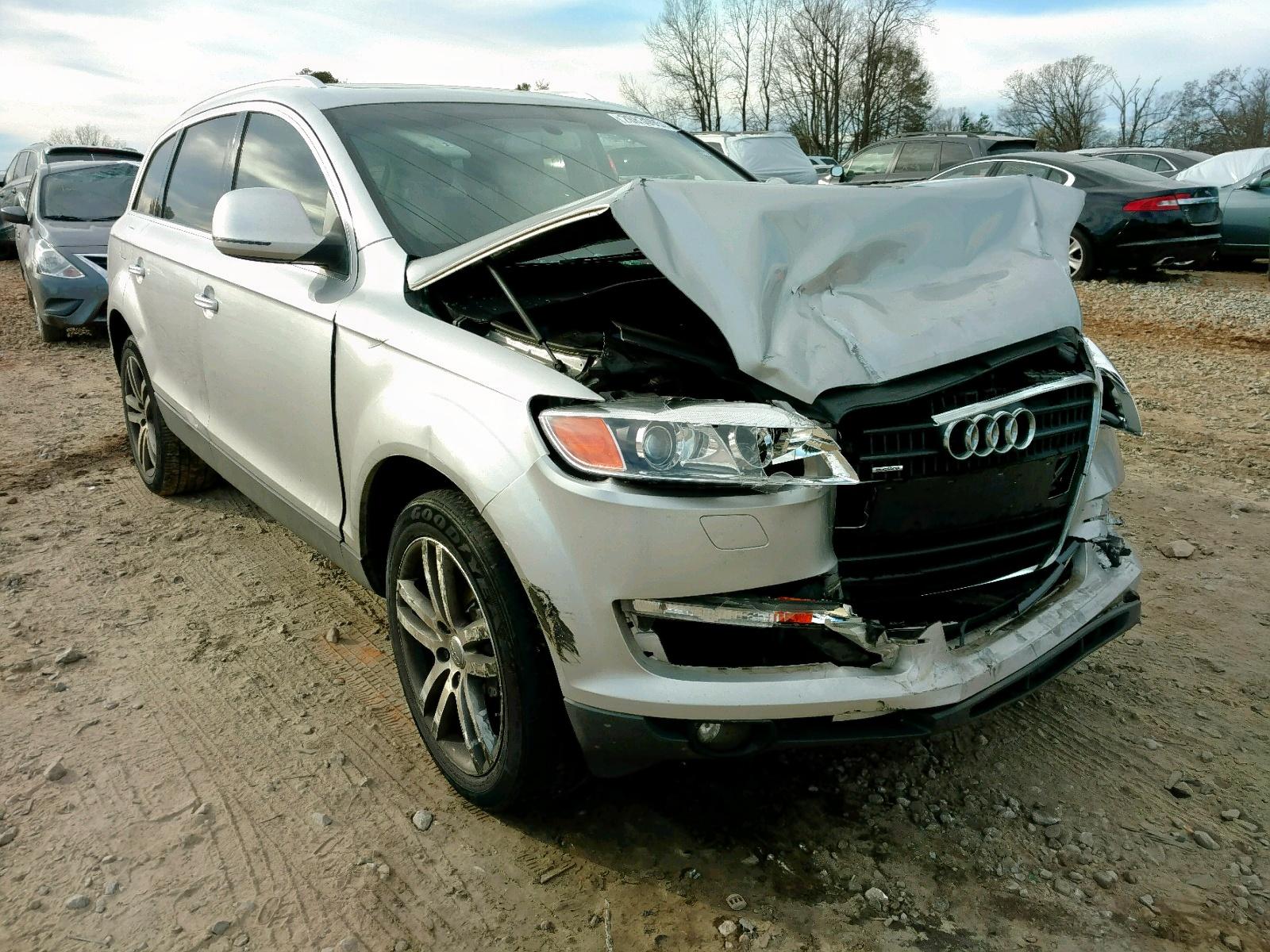 Salvage 2007 Audi Q7 3.6 QUATTRO for sale