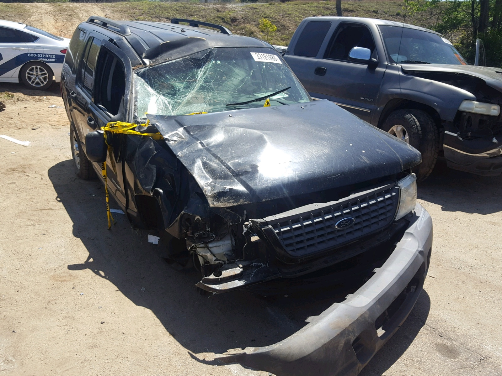 Salvage 2004 Ford EXPLORER X for sale
