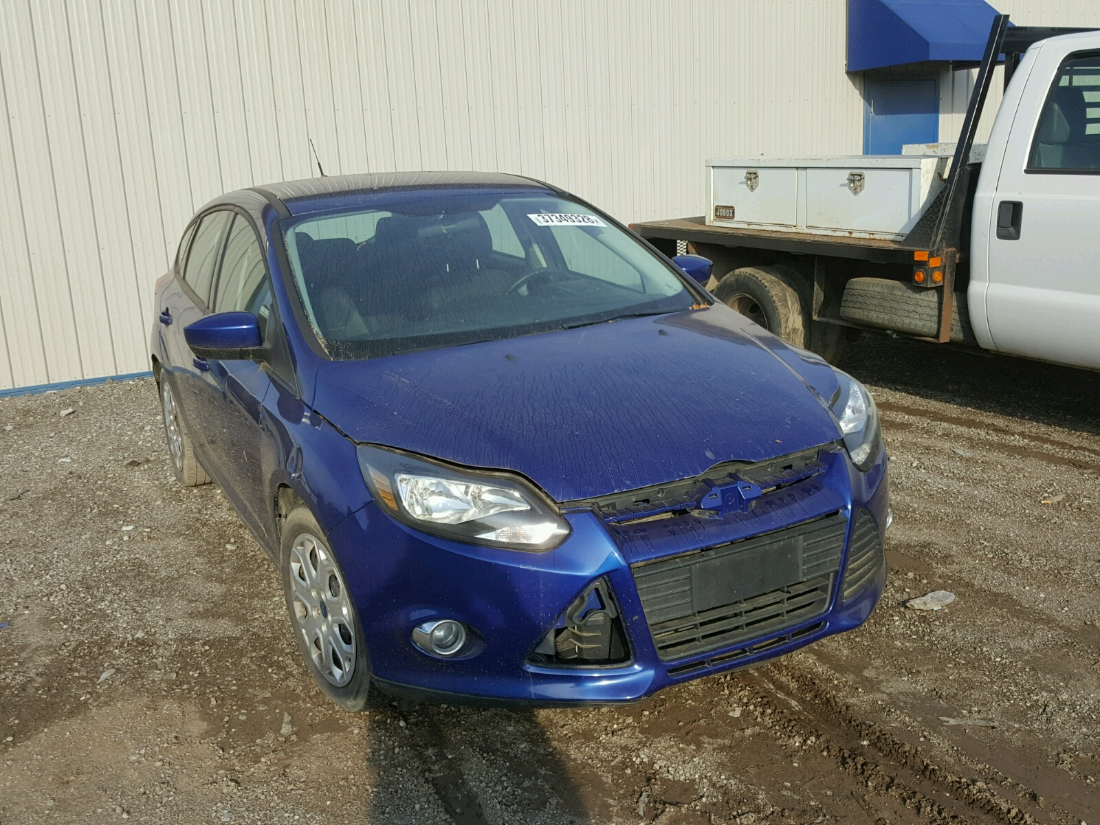 2012 Ford Focus SE for sale at Copart Louisville KY Lot