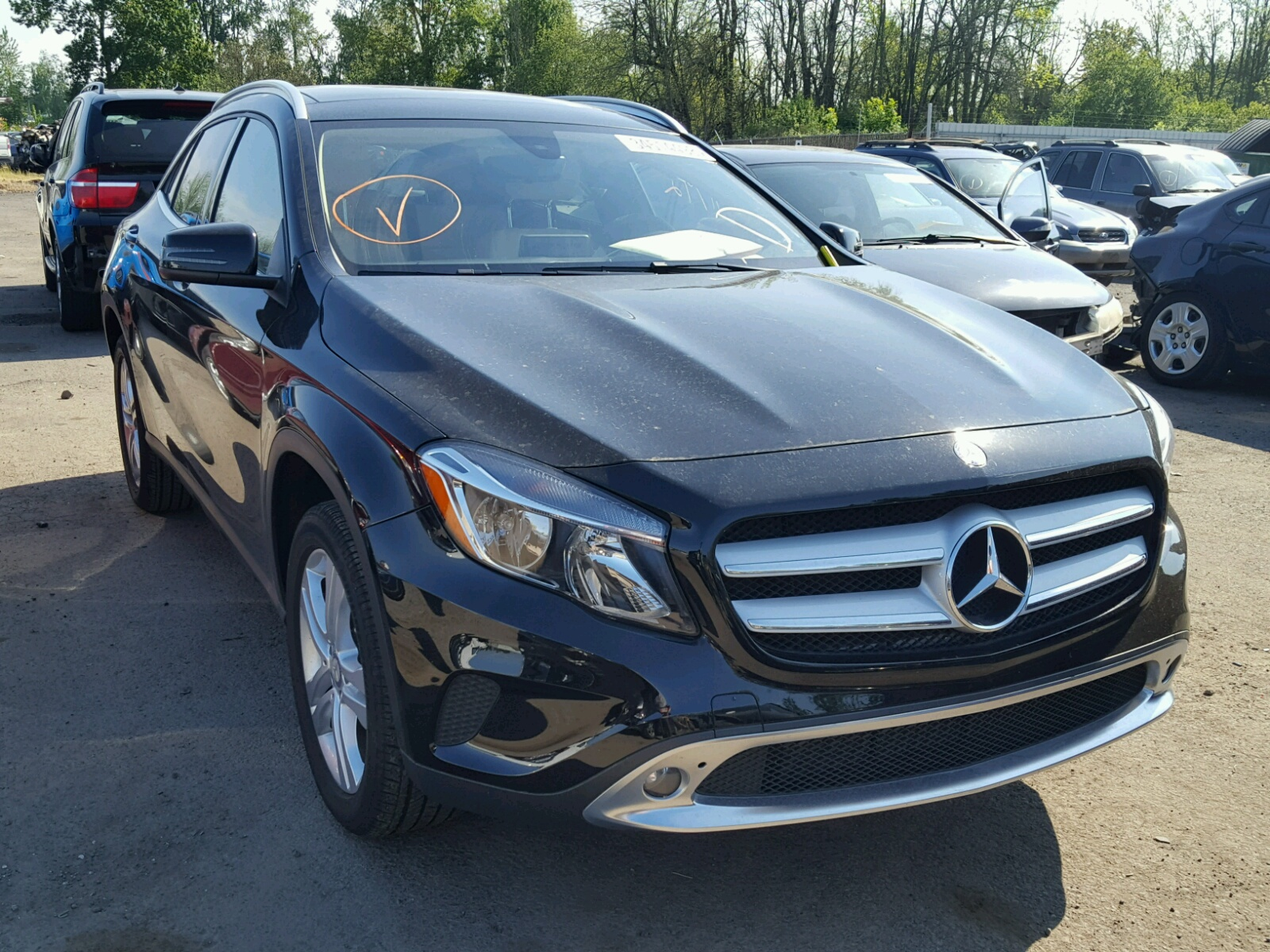 2017 Mercedes Benz GLA 250 4M for sale at Copart Portland OR Lot