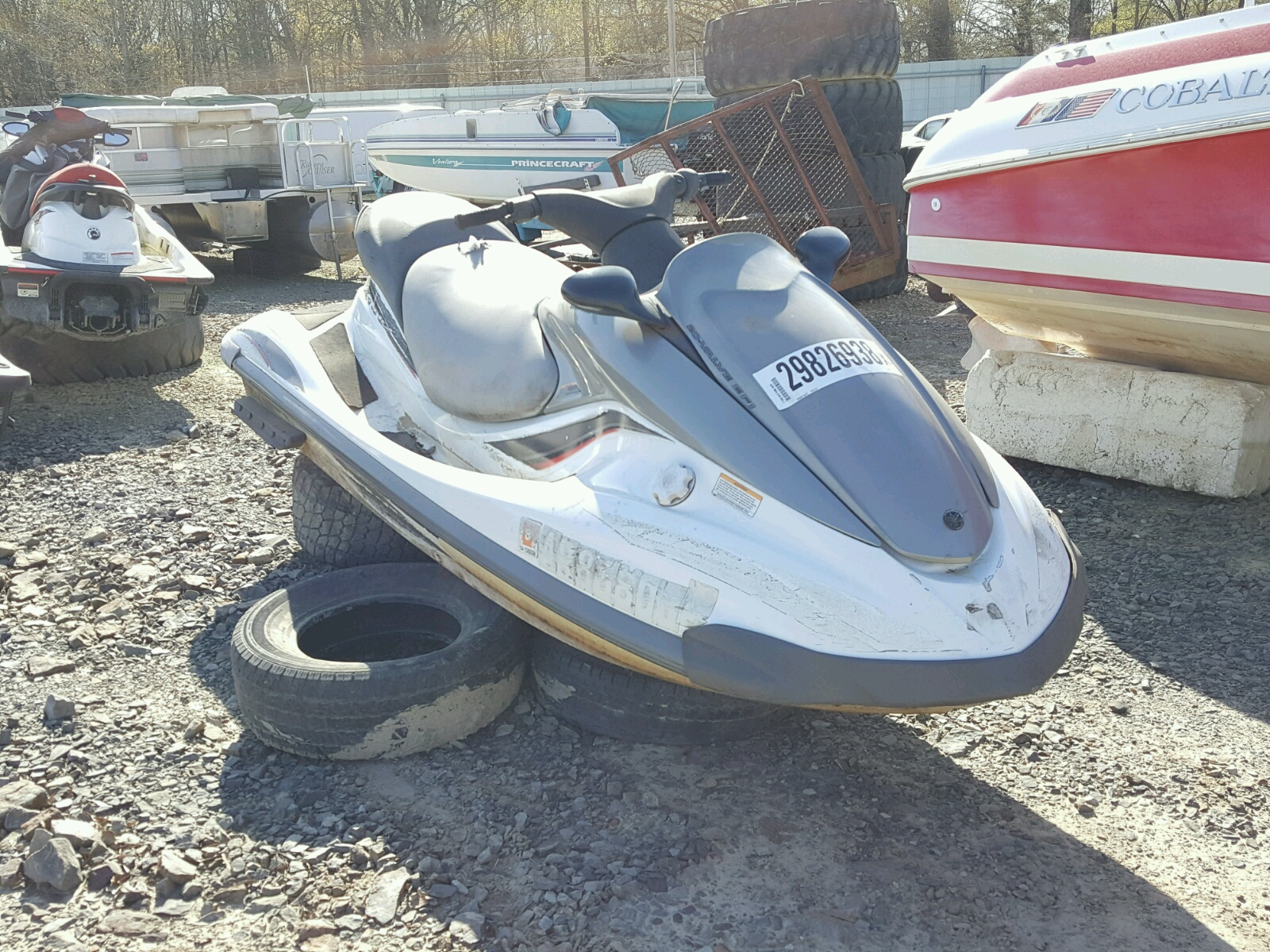 Salvage 2002 Yamaha WAVE RUNNER for sale