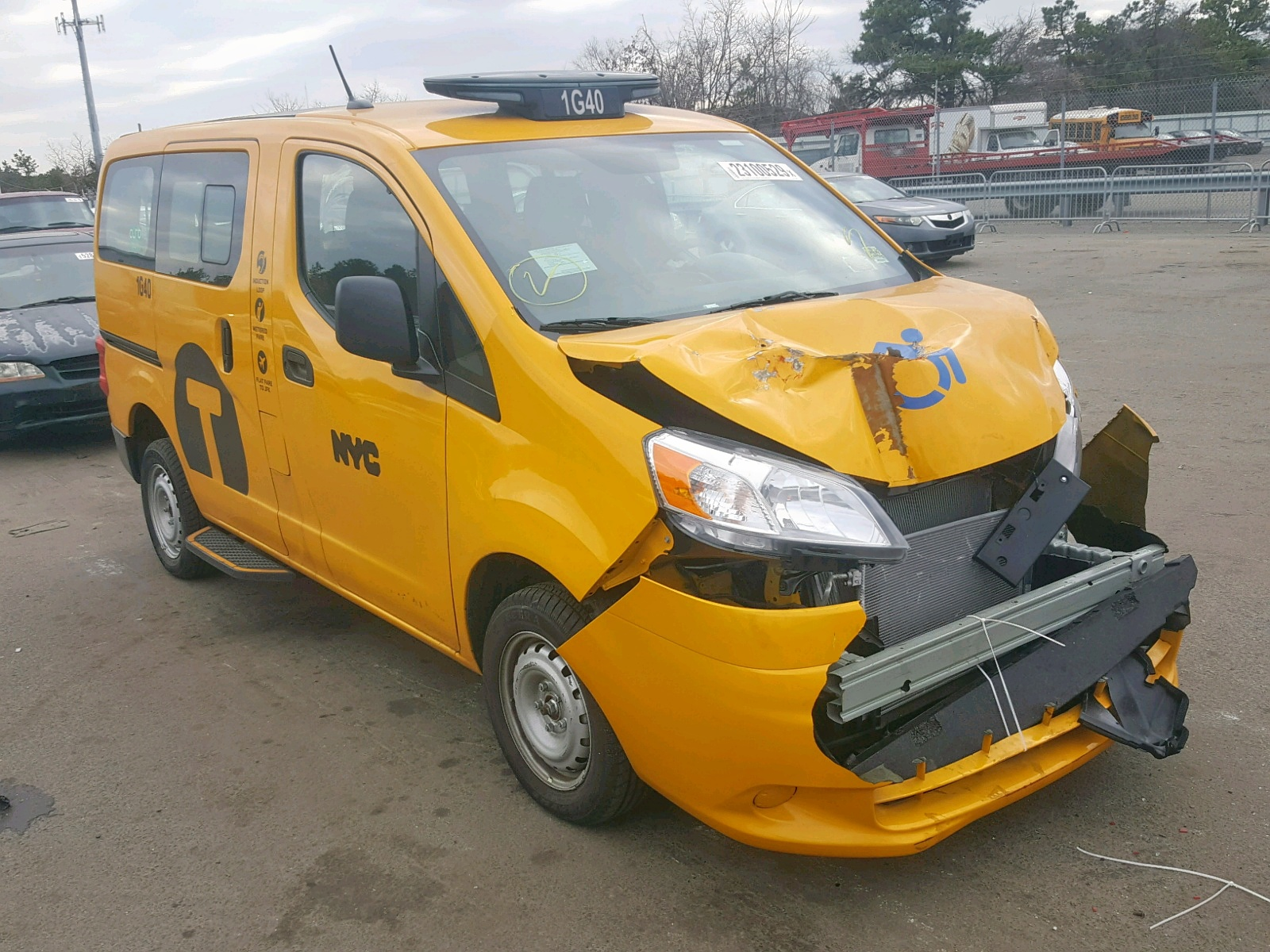 17e9a975c7 2017 Nissan NV200 Taxi for sale at Copart Brookhaven