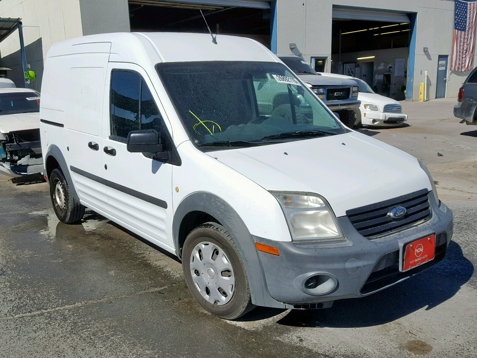 NM0LS7CN6CT096661 - 2012 Ford Transit Co 2.0L Left View