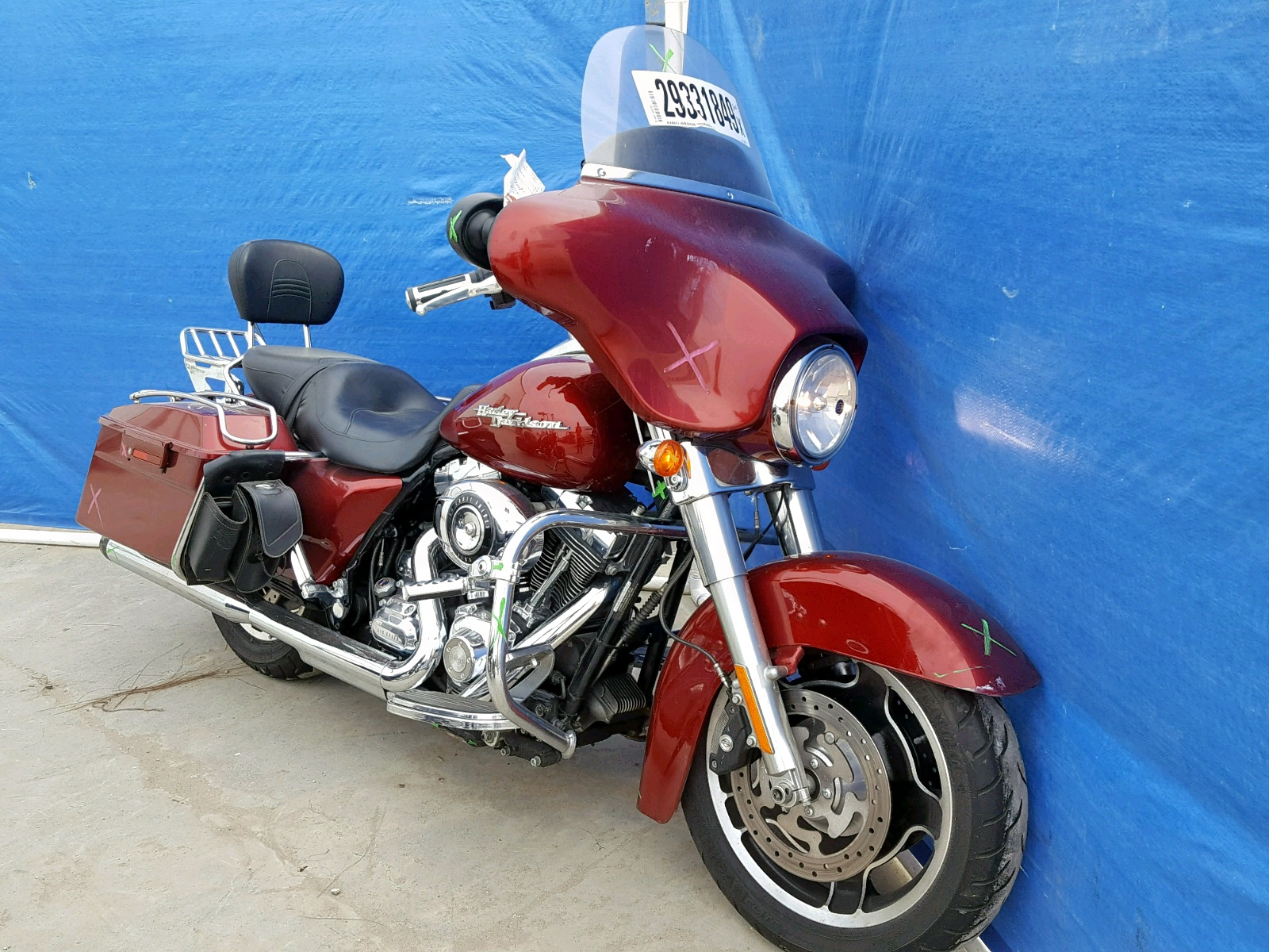 Salvage 2009 Harley-Davidson FLHX for sale
