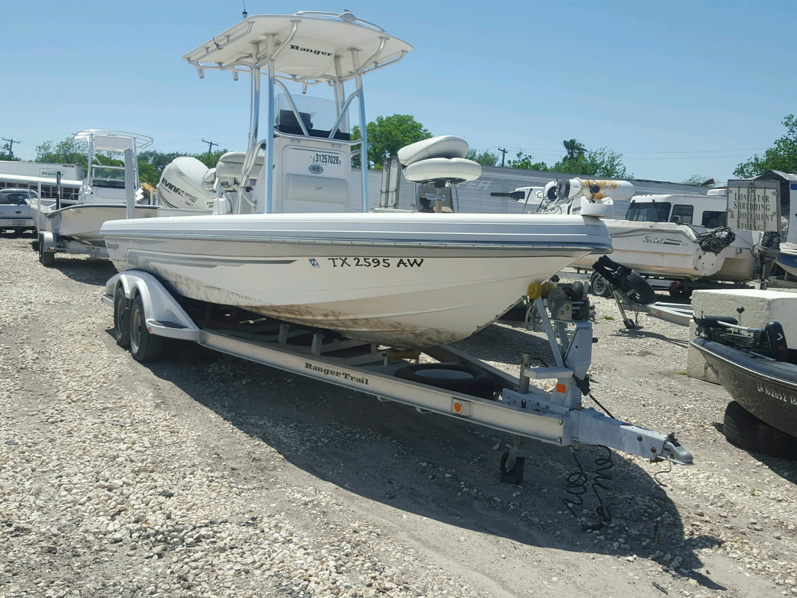 Salvage 2008 Range Rover BOAT for sale