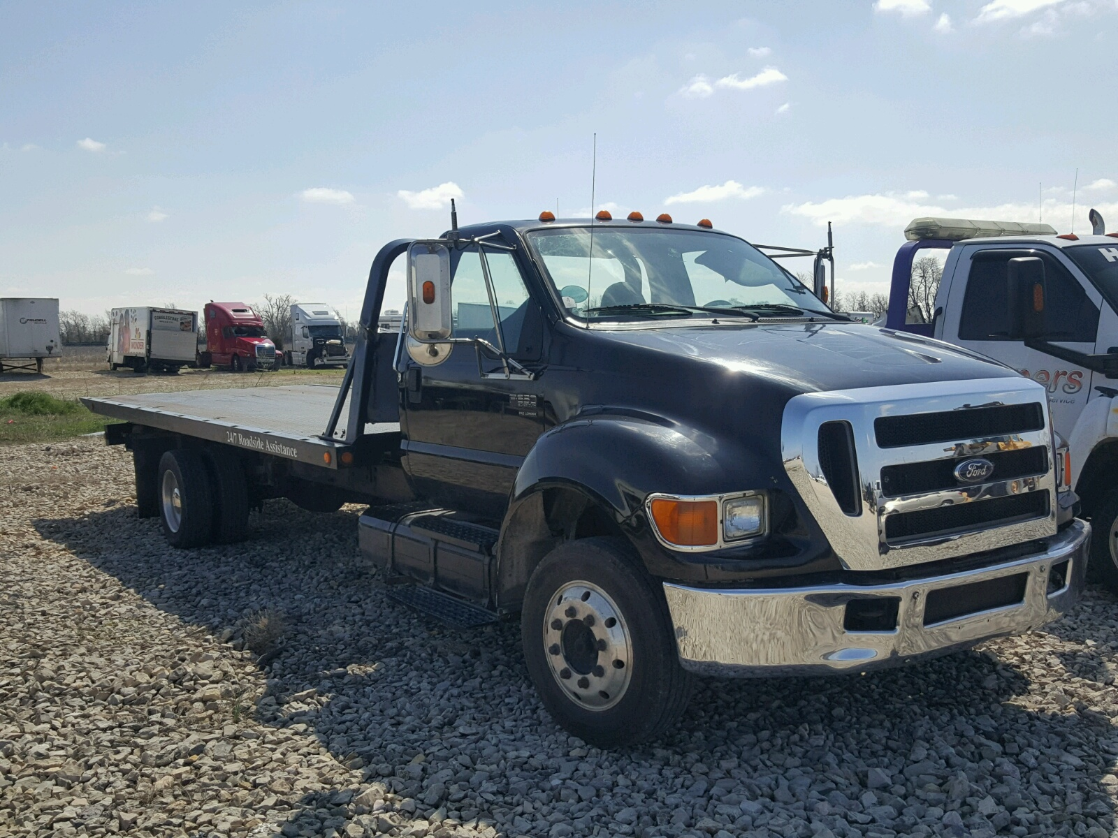 Salvage 2006 Ford F650 Super Truck For Sale