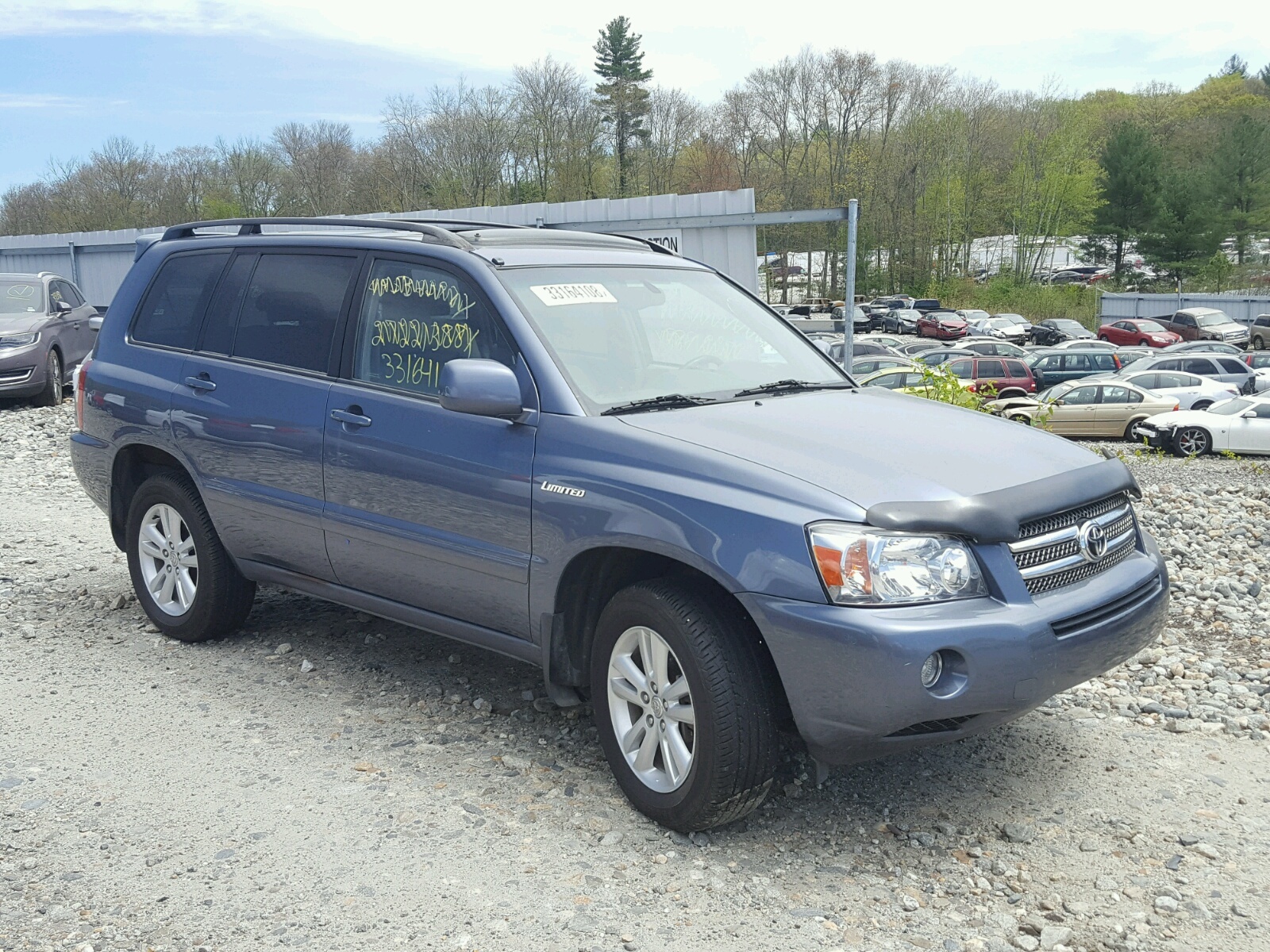 Salvage 2006 Toyota HIGHLANDER for sale