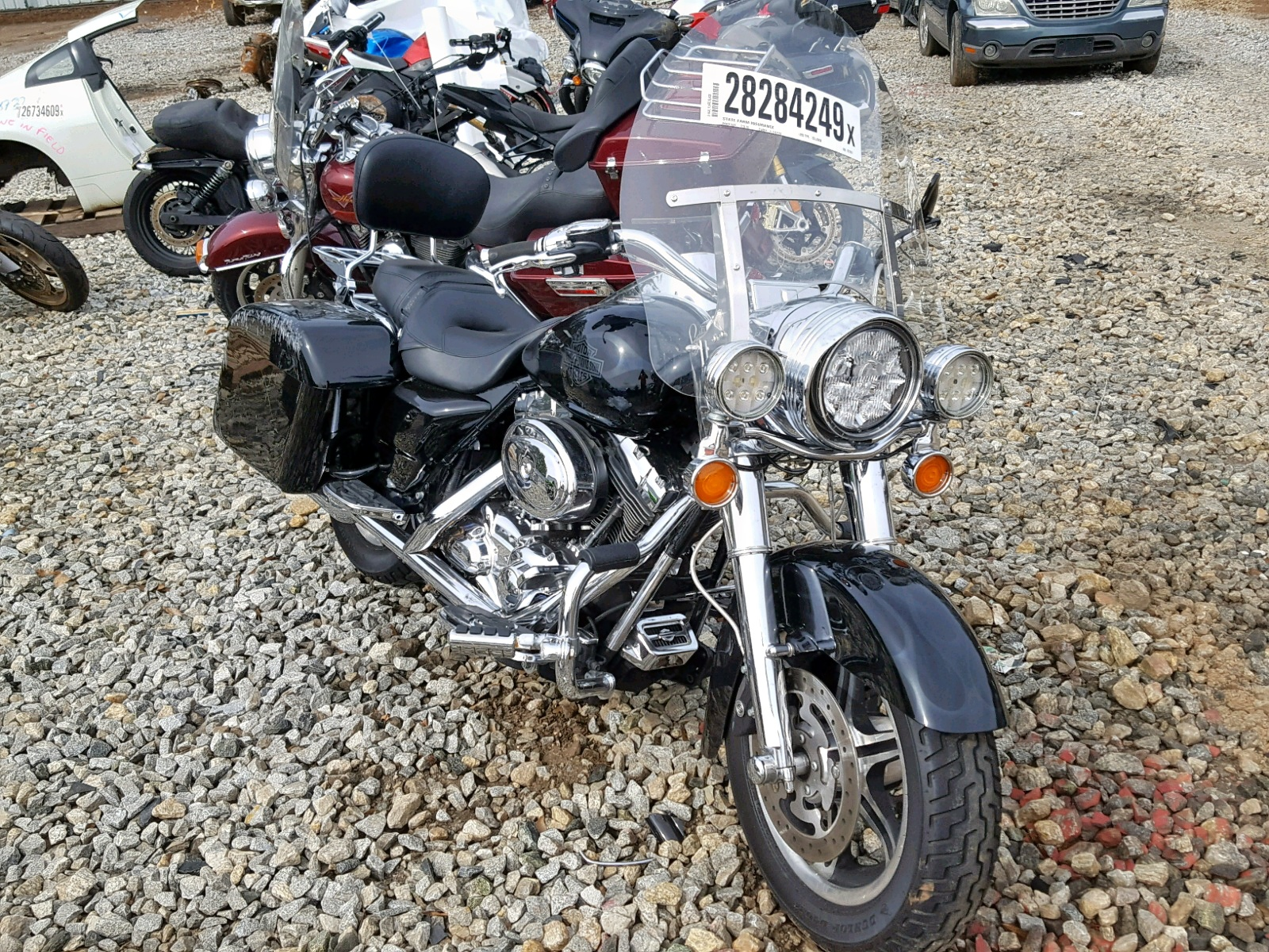 Salvage 2008 Harley-Davidson FLHRC for sale