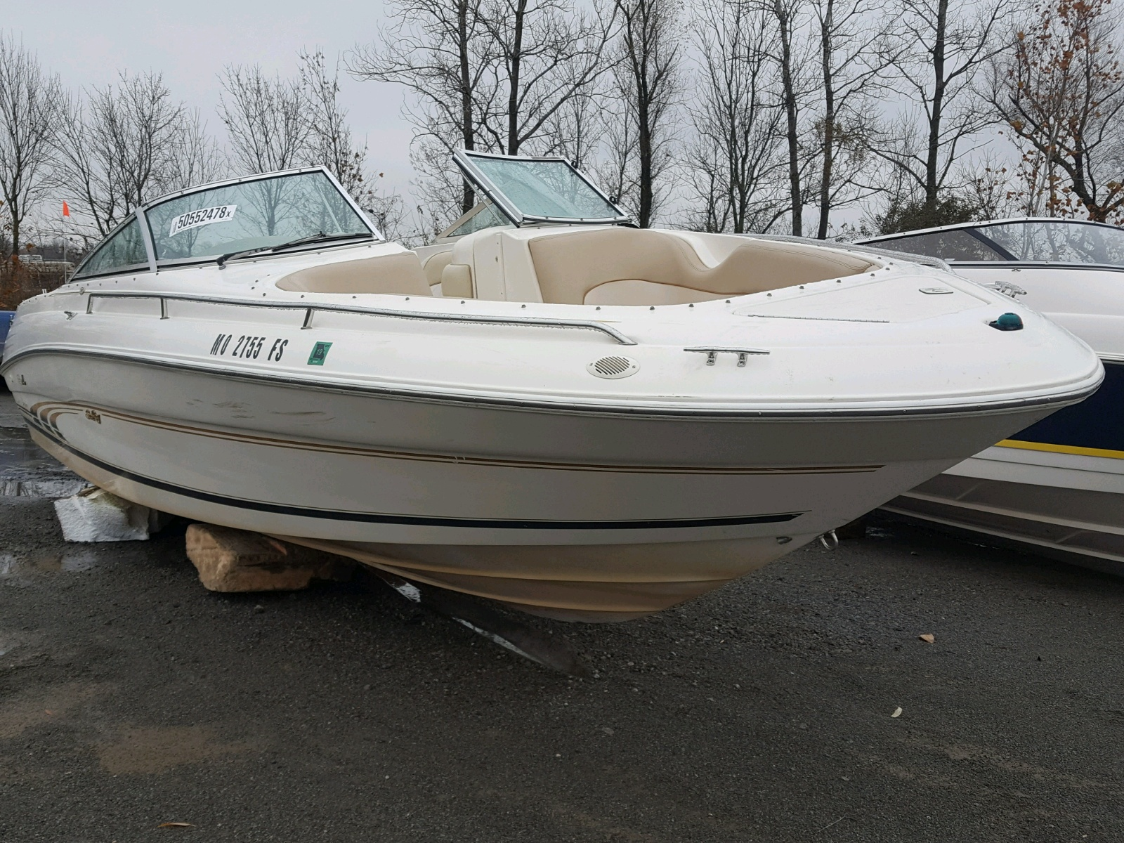 Salvage 1998 Sea Ray 260 BOW RI for sale