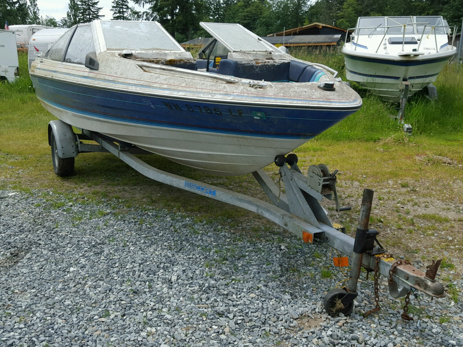 Salvage 1988 Other MARINE TRAILER for sale