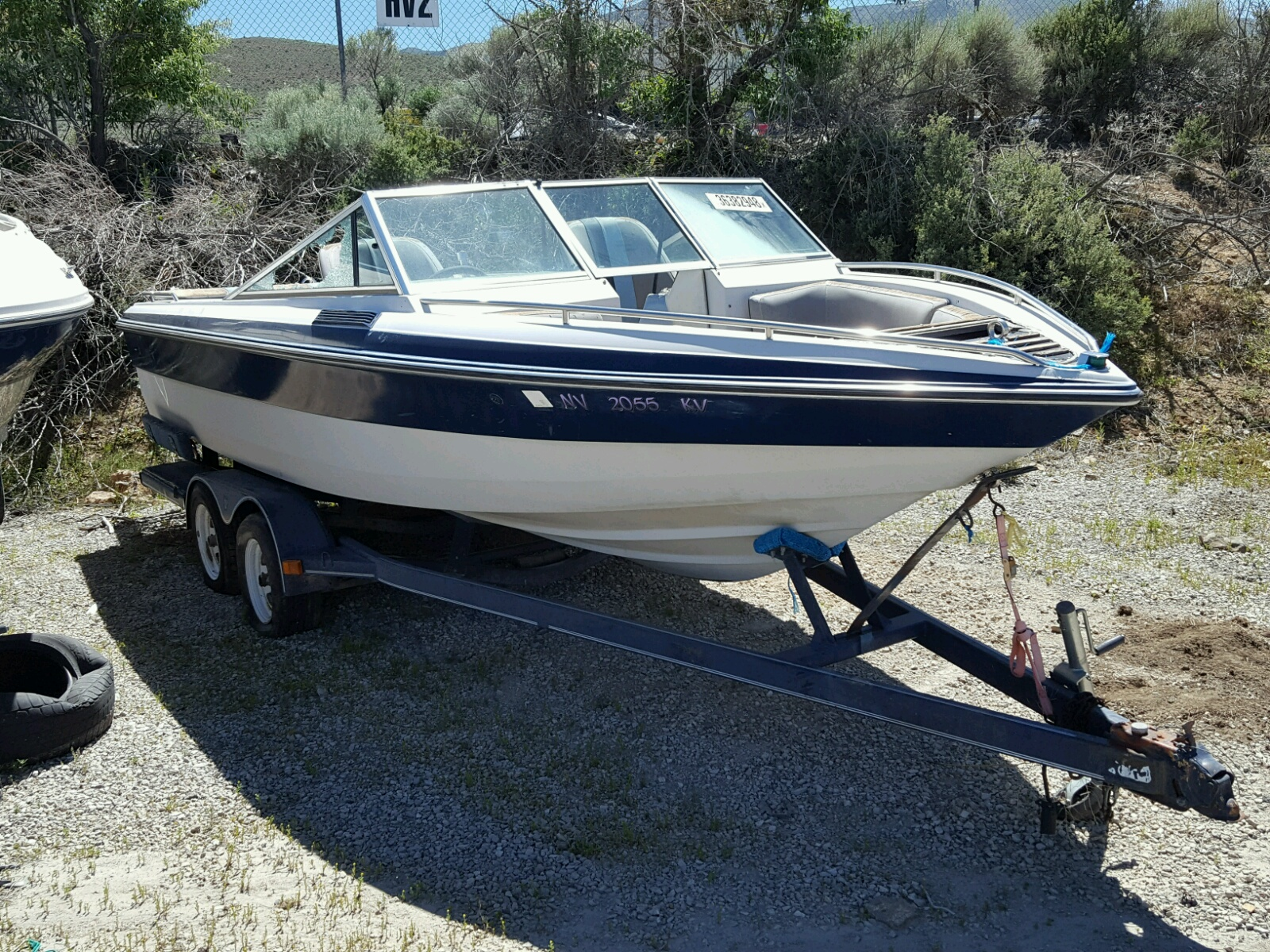 Salvage 2007 Skip BOAT for sale