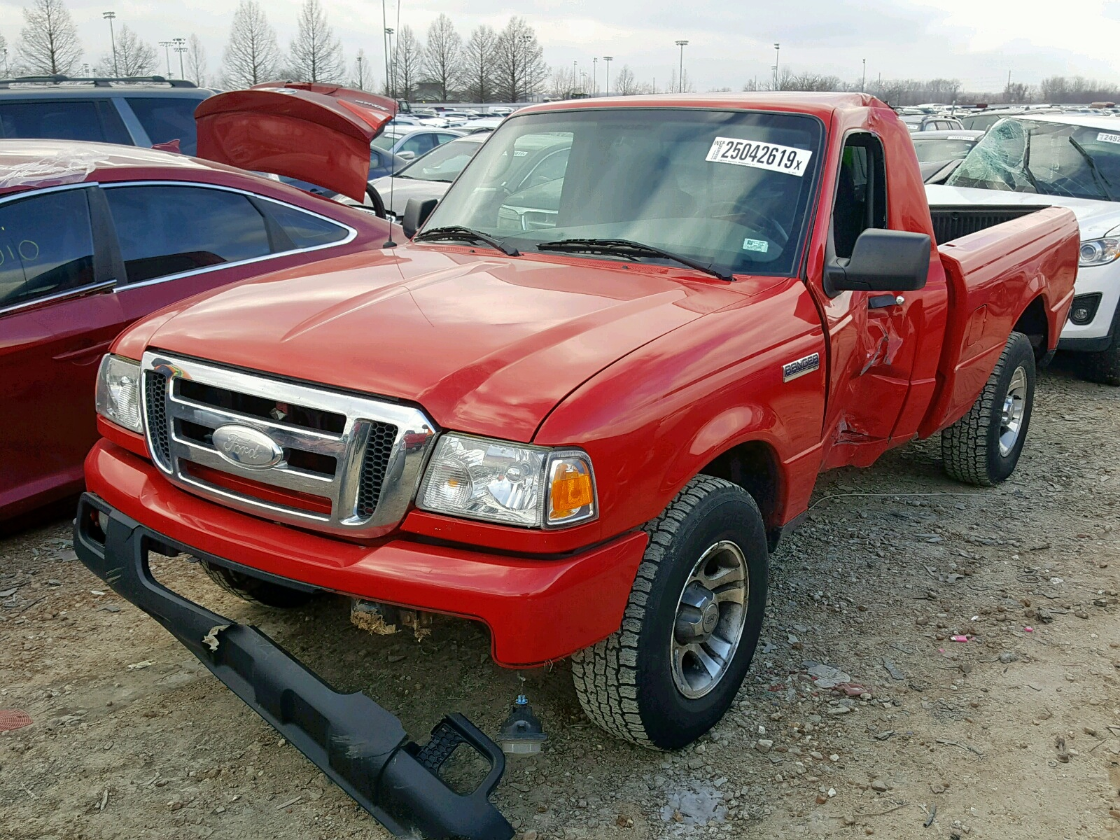 1FTYR10U76PA08260 - 2006 Ford Ranger 3.0L Right View