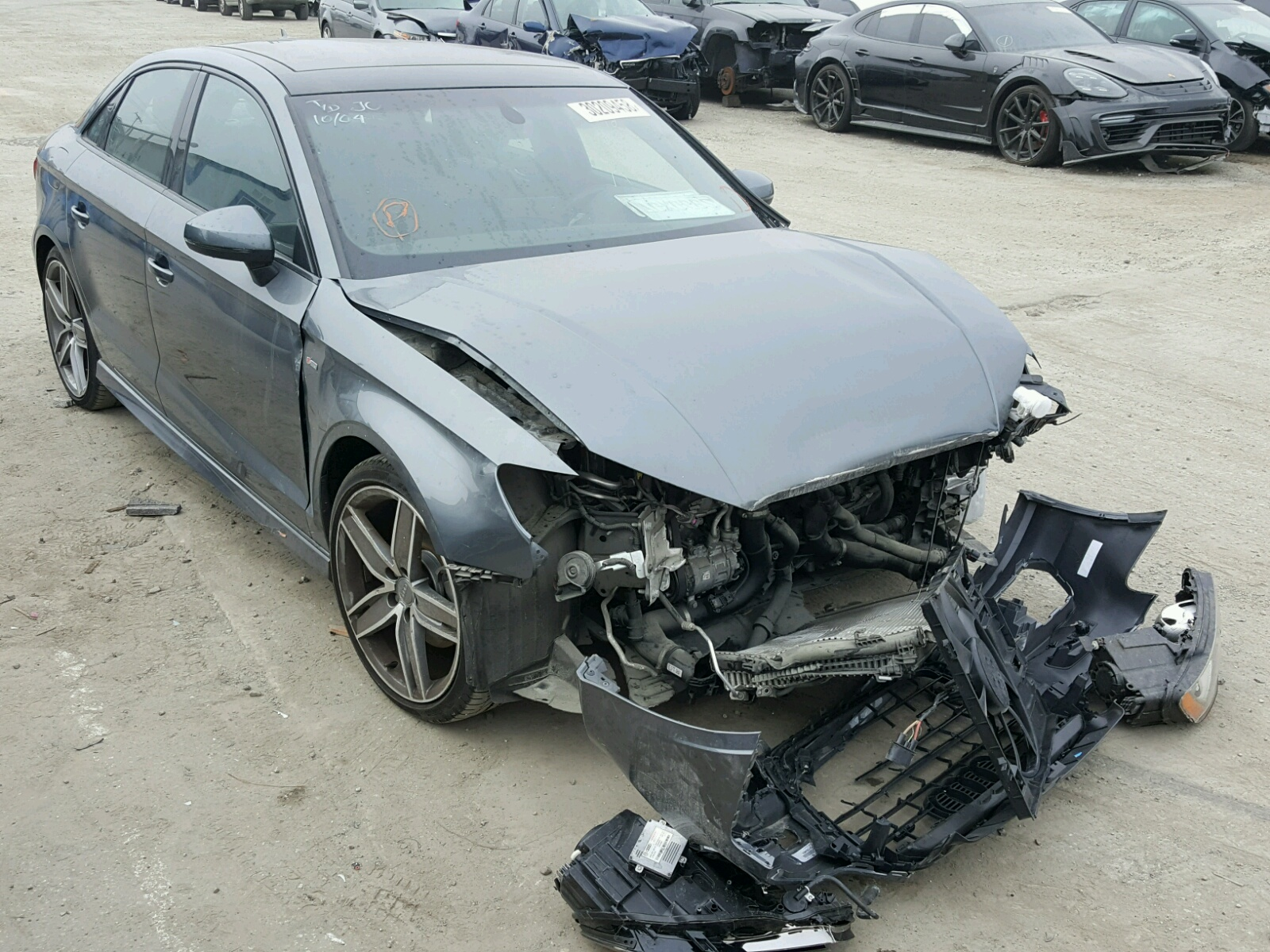 Auto Auction Ended on VIN: WAU78LFF2G1026802 2016 AUDI A3 2.0 PRE in FL - ORLANDO NORTH