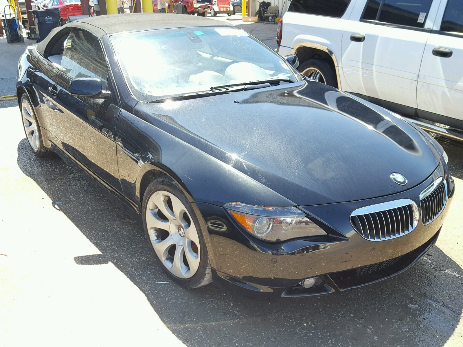 Auto Auction Ended On Vin Wbaek135x7cn83969 2007 Bmw 650 In Tx Houston