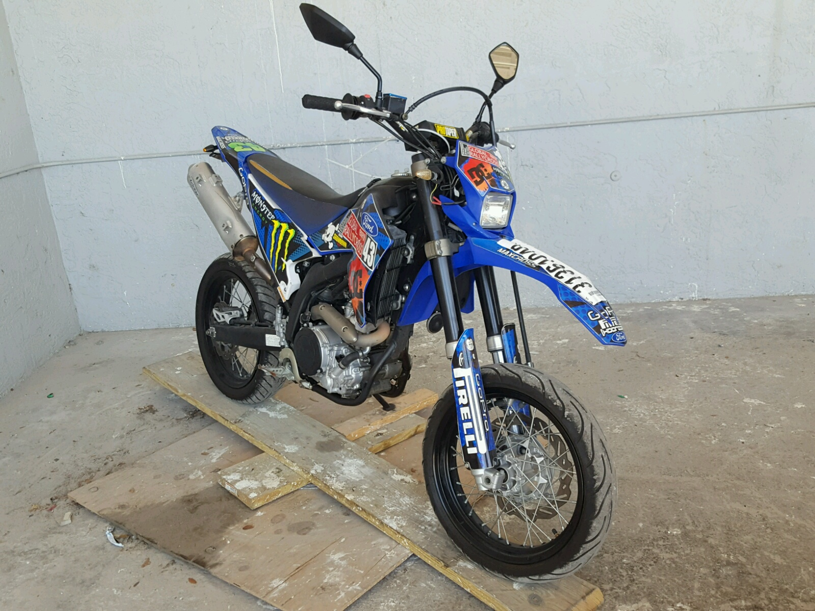 2008 YAMAHA WR250 X 1