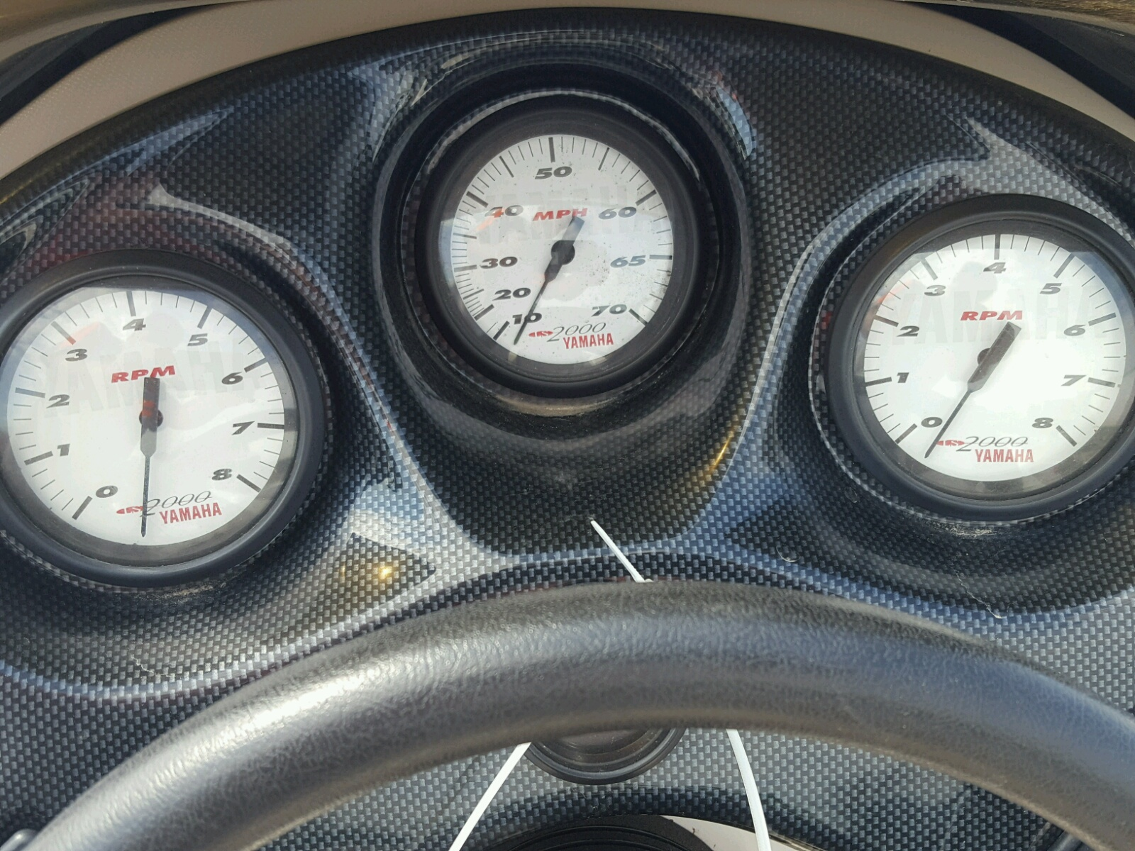 yamaha boat speedometer