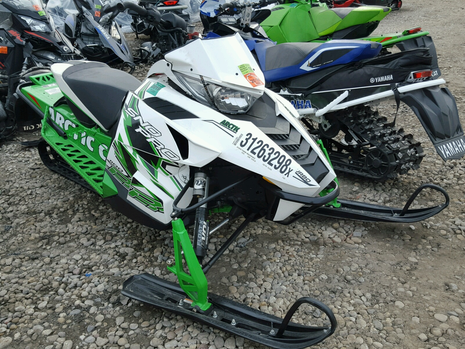 2013 Arctic Cat Snowmobile for sale at Copart Cudahy WI Lot