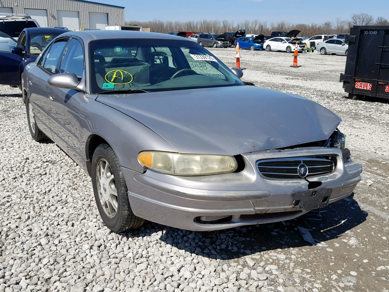 Salvage 1998 Buick REGAL LS for sale