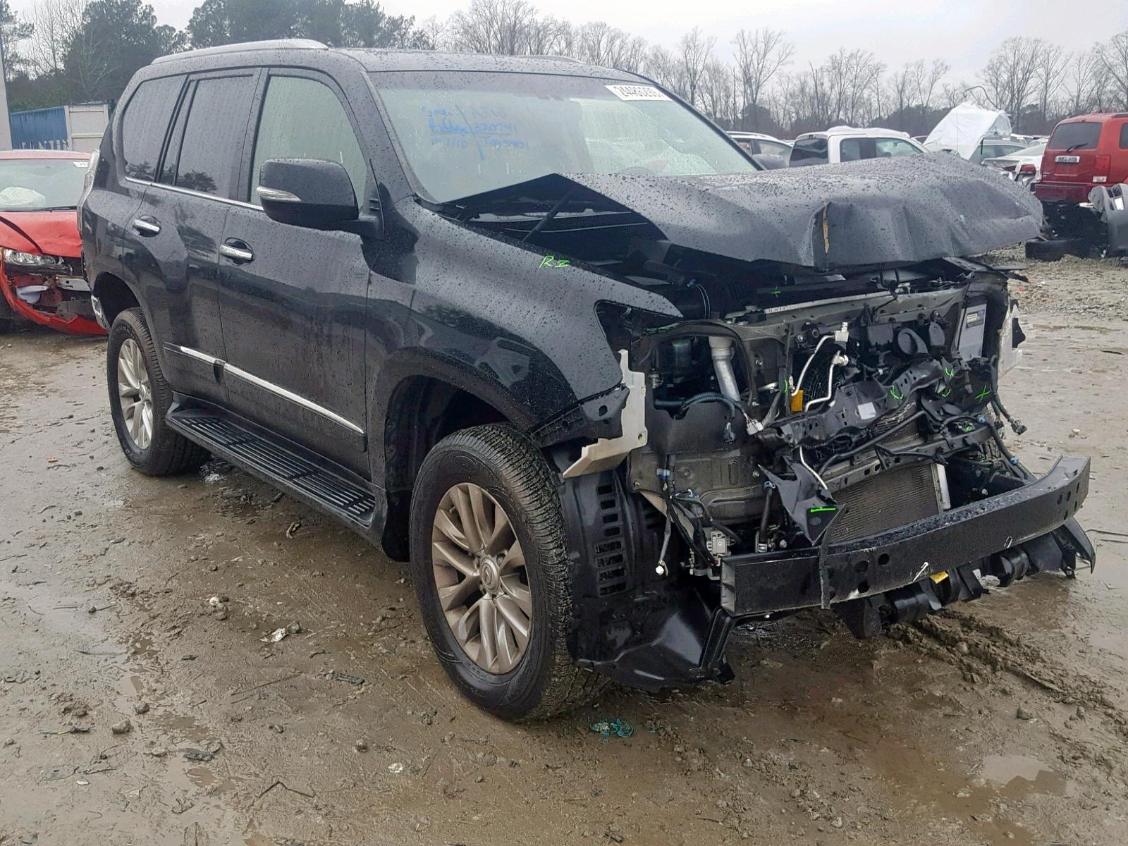 Salvage 2015 Lexus GX BASE for sale