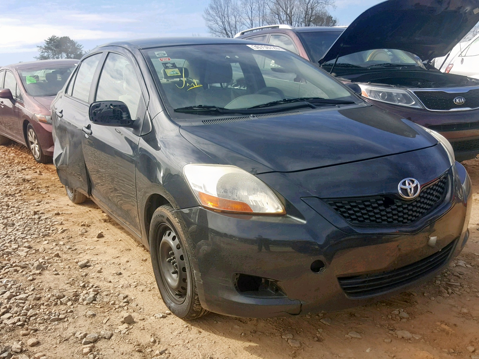 Salvage 2010 Toyota YARIS for sale