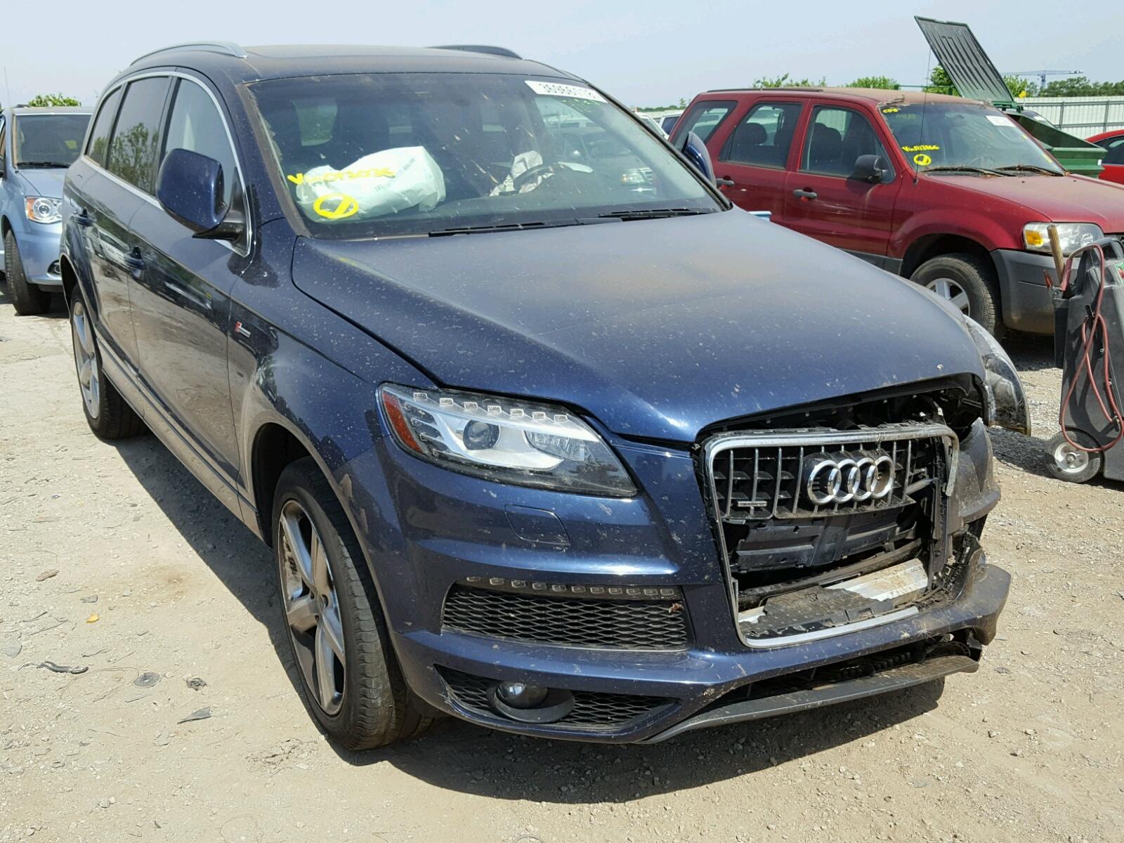 Salvage 2013 Audi Q7 PRESTIGE for sale