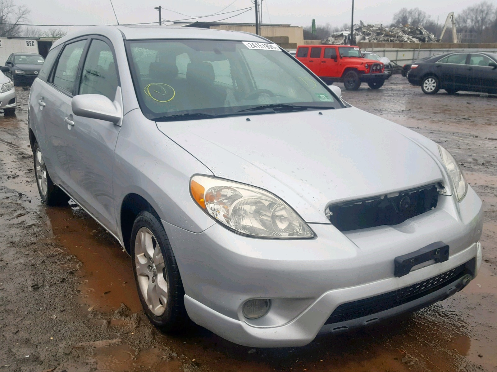 Salvage 2008 Toyota COROLLA MA for sale