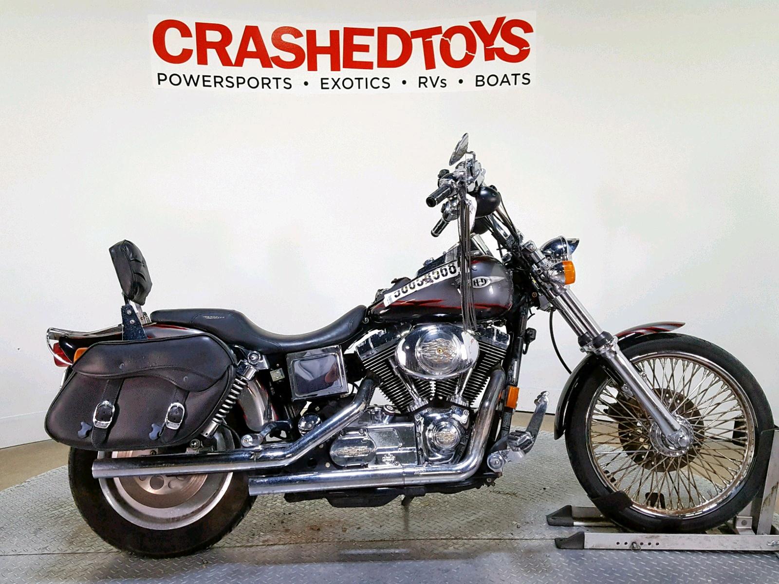 Salvage 1999 Harley-Davidson FXDWG for sale