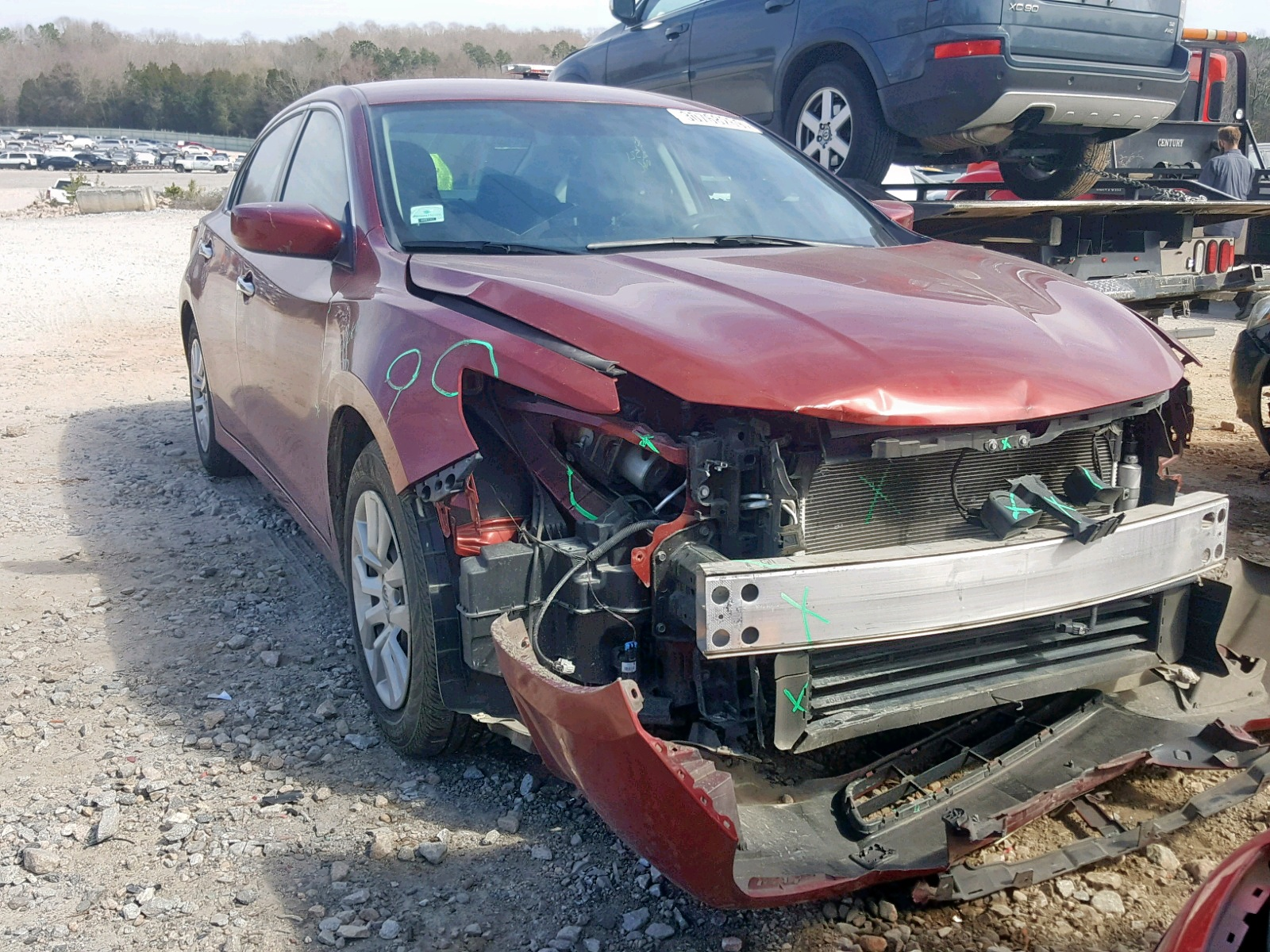 Salvage 2016 Nissan ALTIMA 2.5 for sale