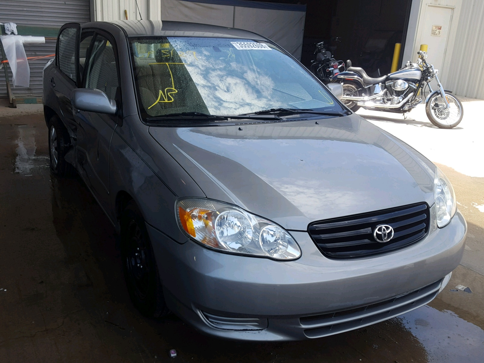 Salvage 2003 Toyota COROLLA CE for sale