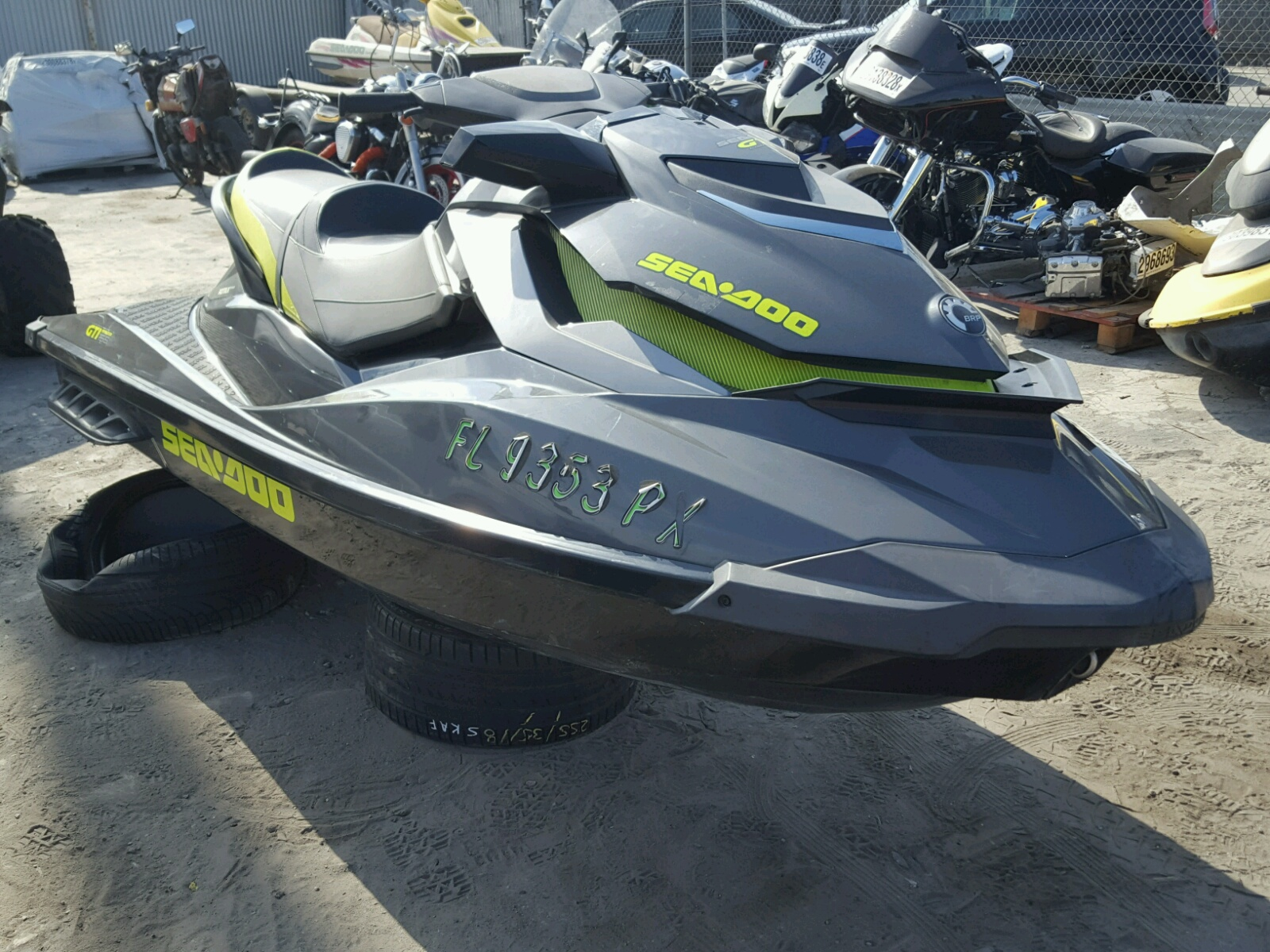 Salvage 2015 Seadoo GTI for sale