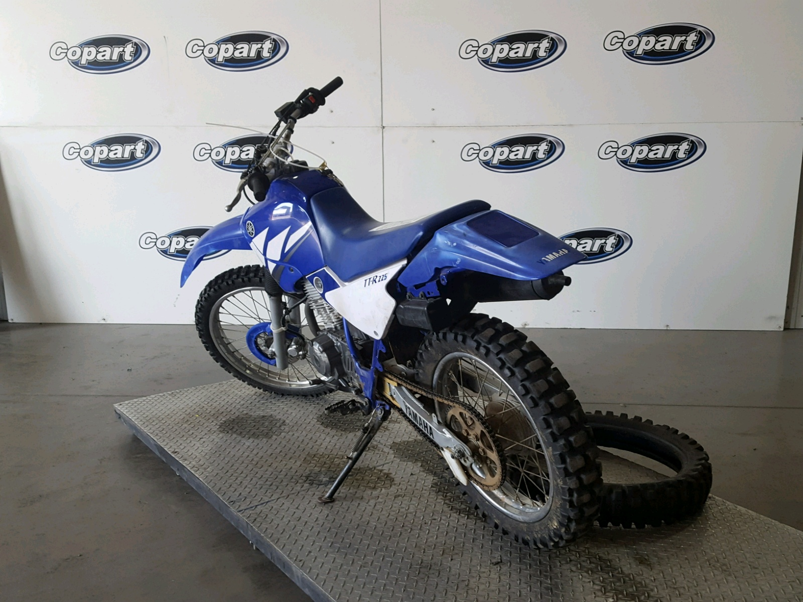 2003 Yamaha Ttr225 For Sale At Copart San Diego Ca Lot 52844838 03 Ttr 225 Wiring