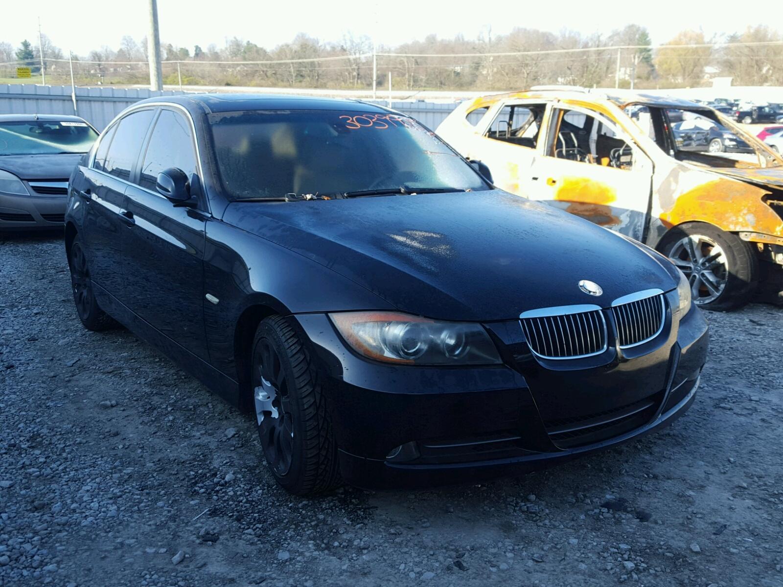 Wbavb13506kx33446 2006 Black Bmw 325i On Sale In Sc