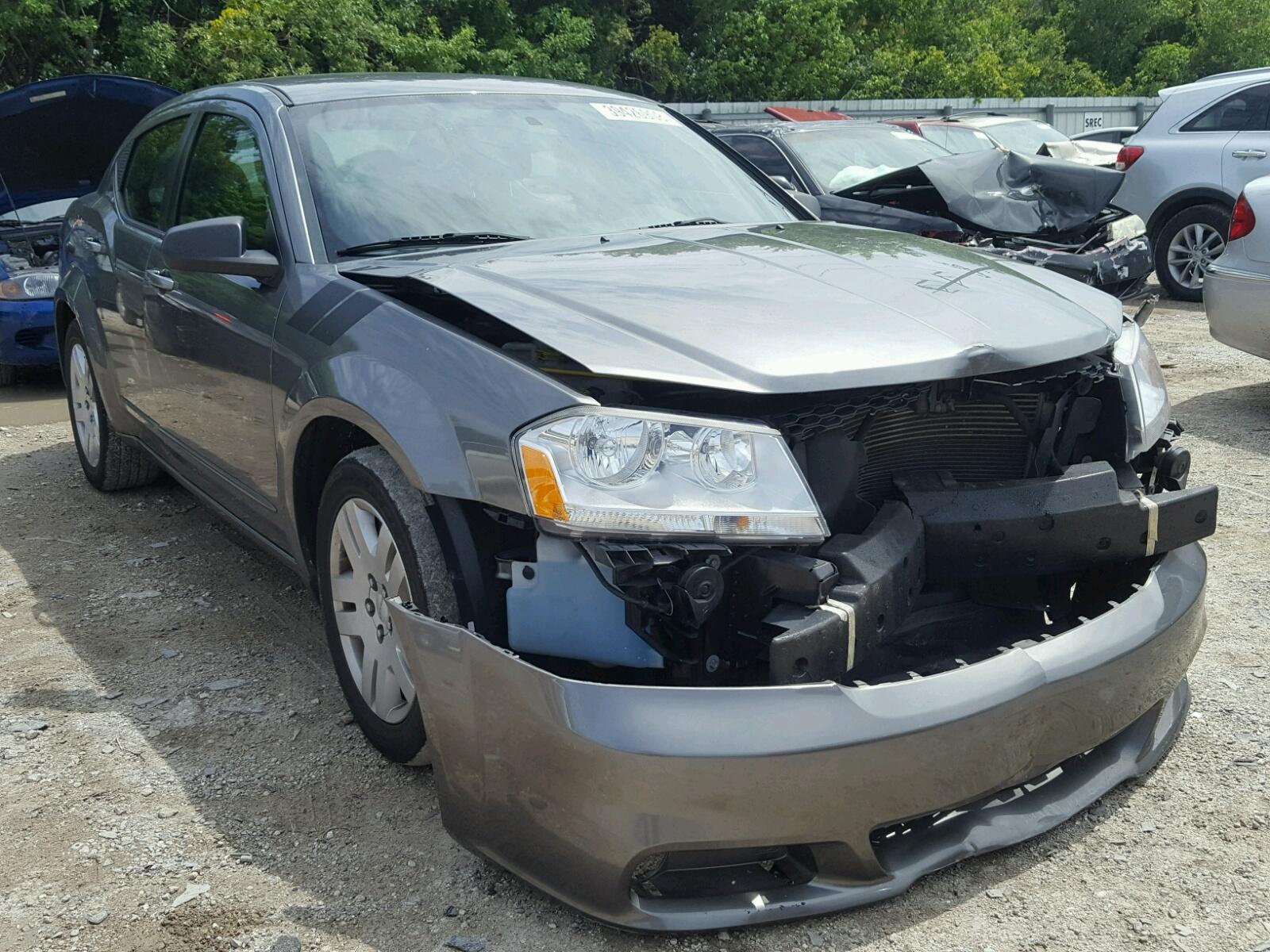 Salvage 2012 Dodge AVENGER SE for sale