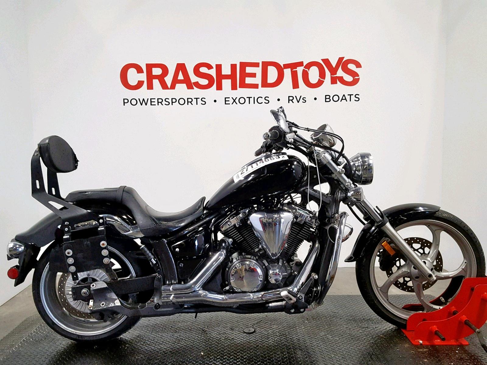 Salvage 2012 Yamaha XVS1300 CU for sale