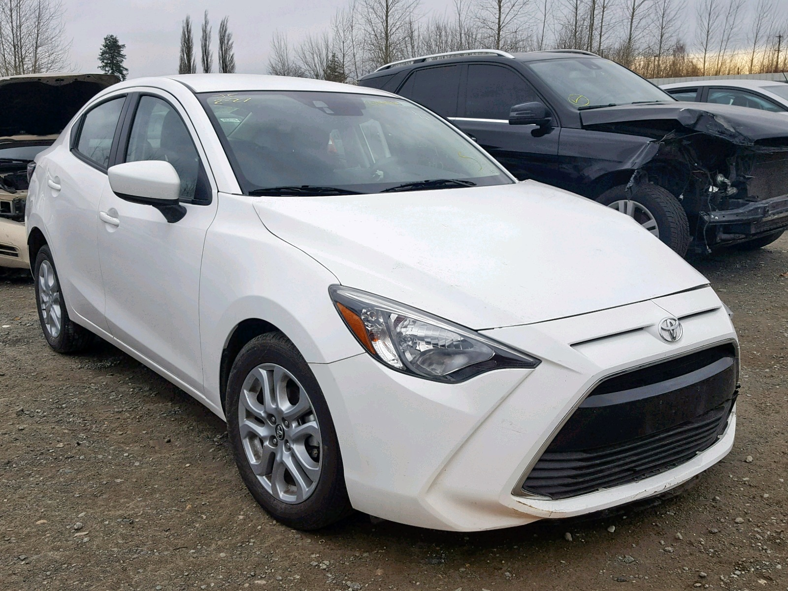 Salvage 2018 Toyota YARIS IA for sale