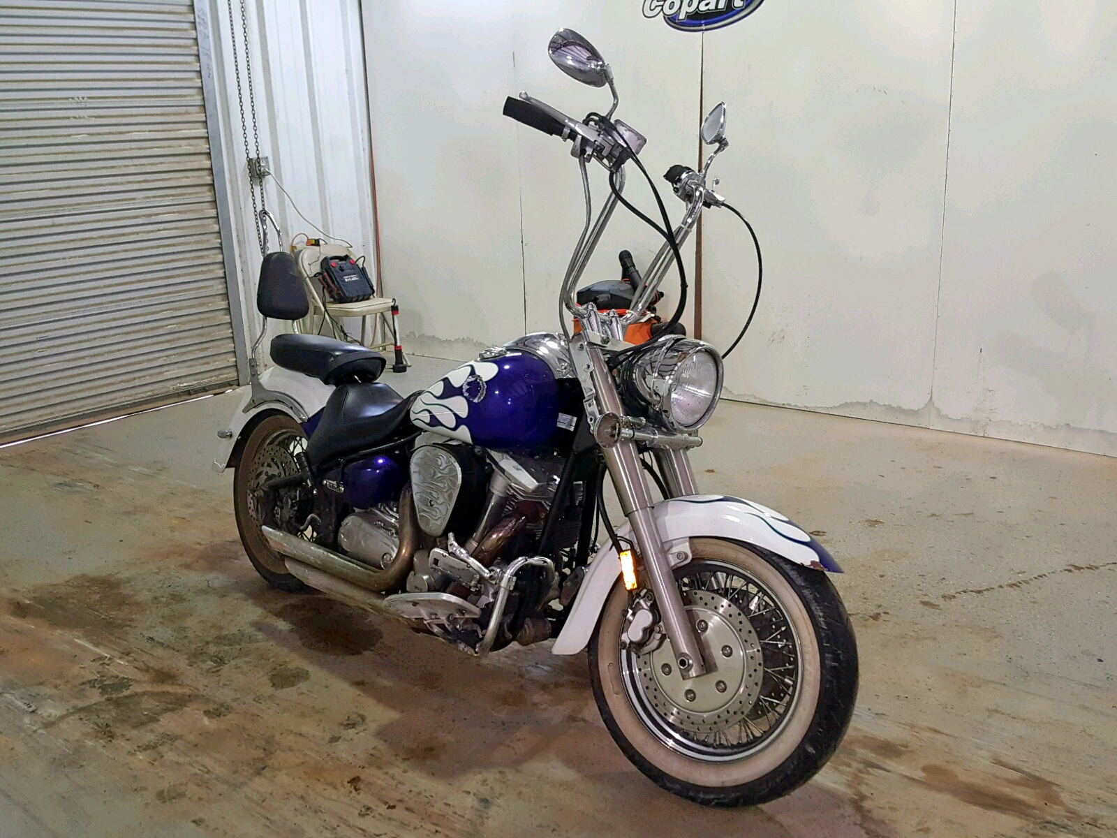 Salvage 2002 Yamaha XV1600 AS for sale