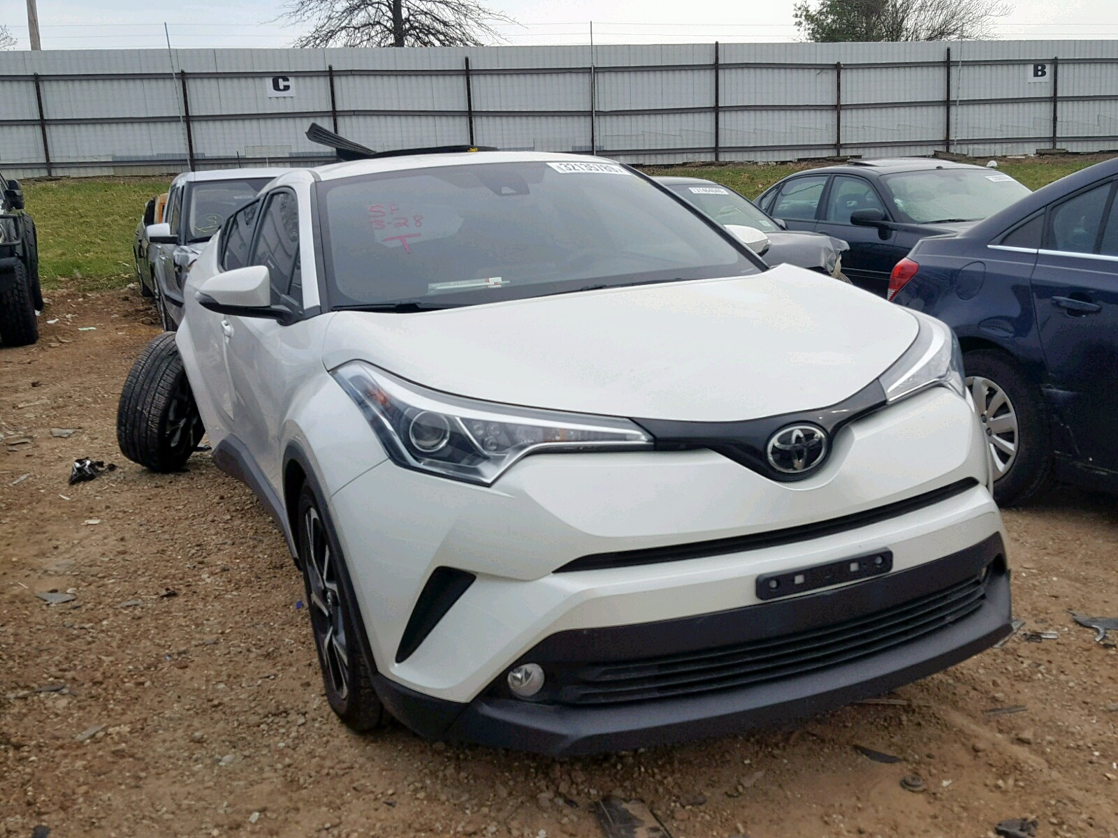 Salvage 2018 Toyota C-HR XLE for sale
