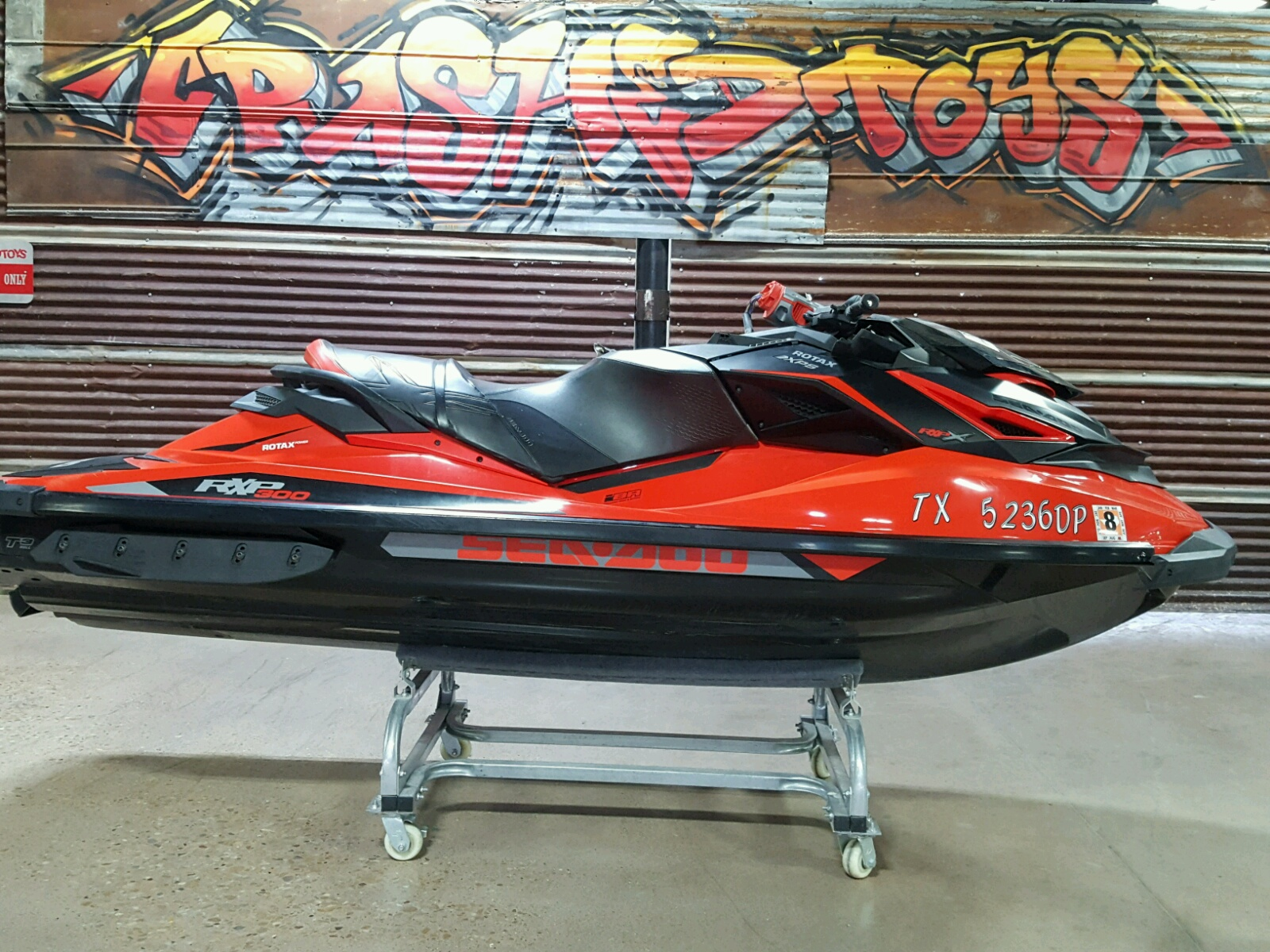 Salvage 2016 Seadoo RXP X 300 for sale