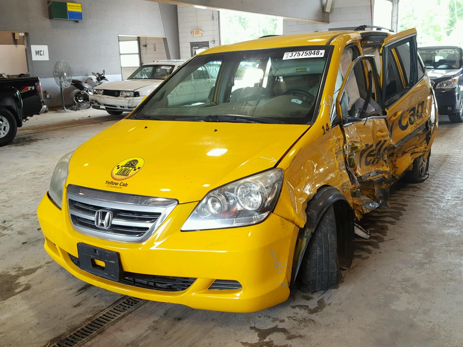 fnrlb  yellow honda odyssey   sale  va richmond lot