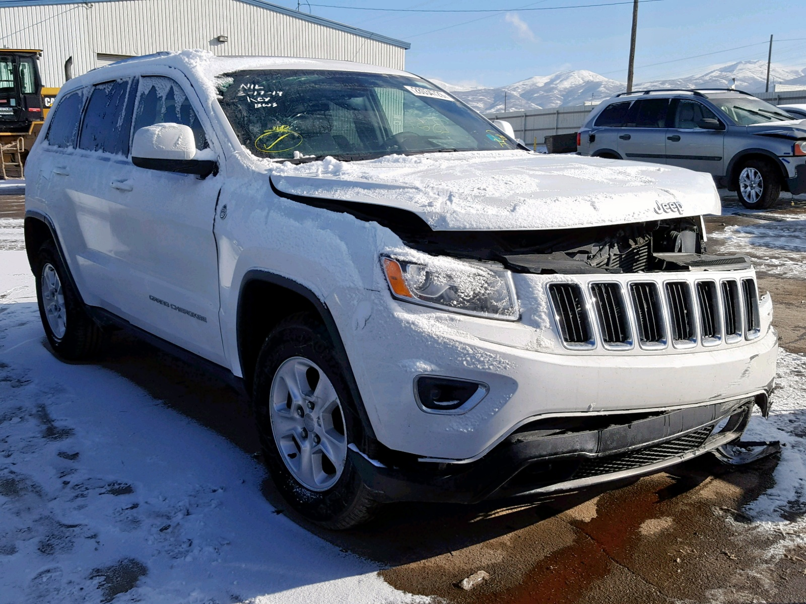 Salvage 2016 Jeep GRAND CHEROKEE for sale