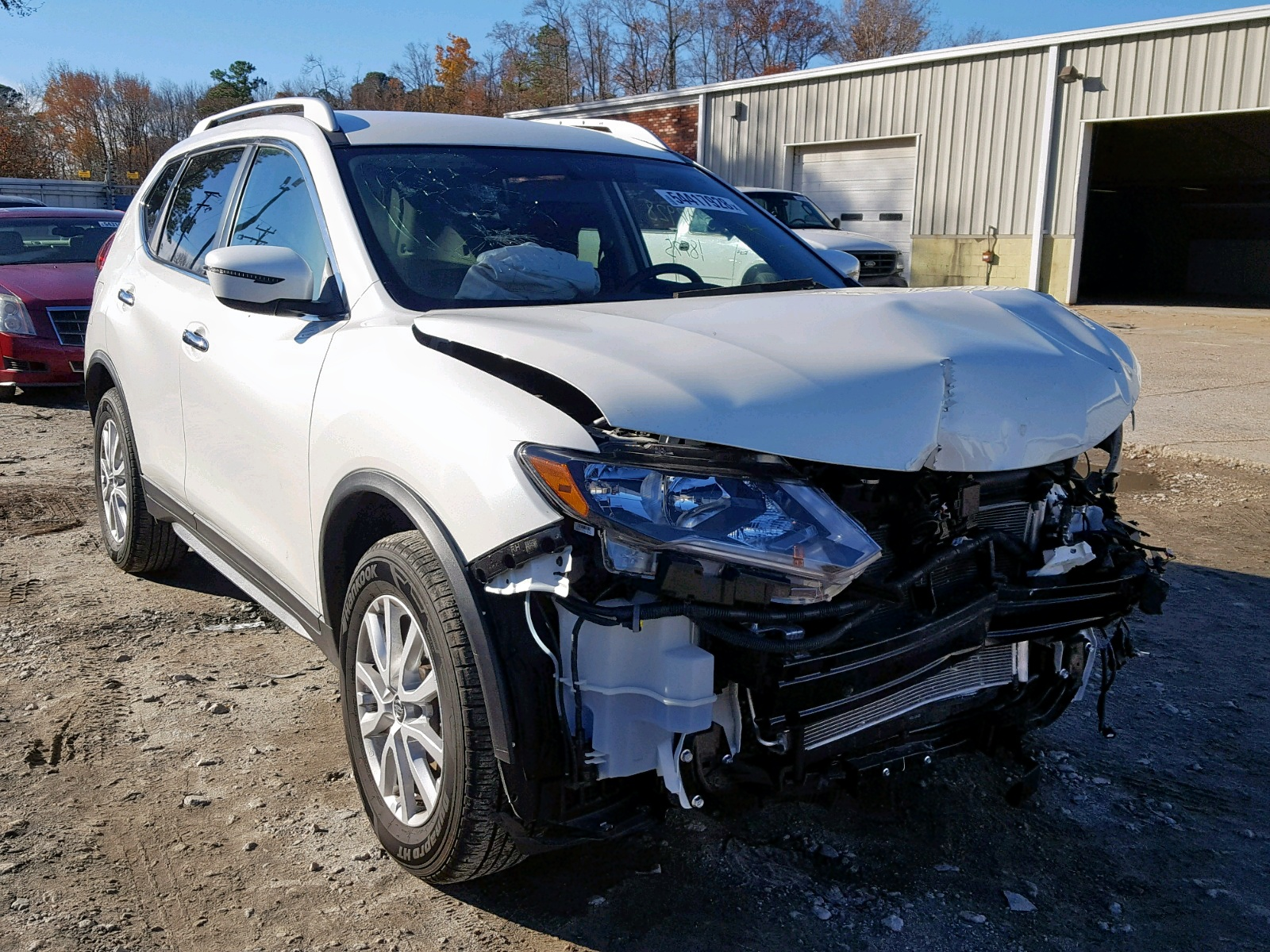 Salvage 2018 Nissan ROGUE S for sale