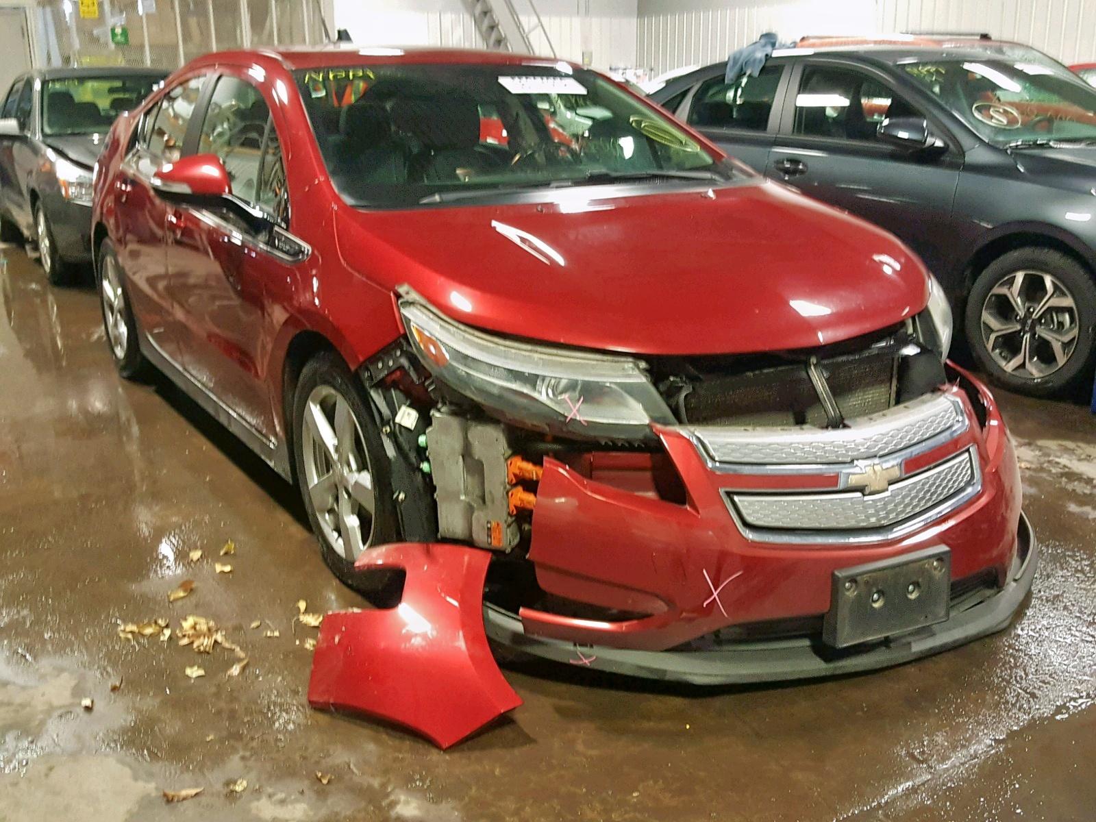Salvage 2013 Chevrolet VOLT for sale
