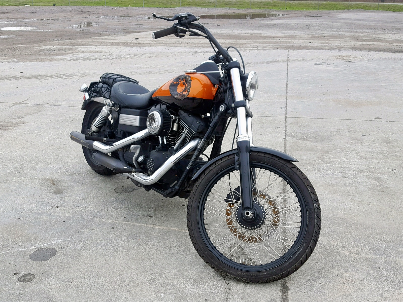 Salvage 2008 Harley-Davidson FXDBI for sale